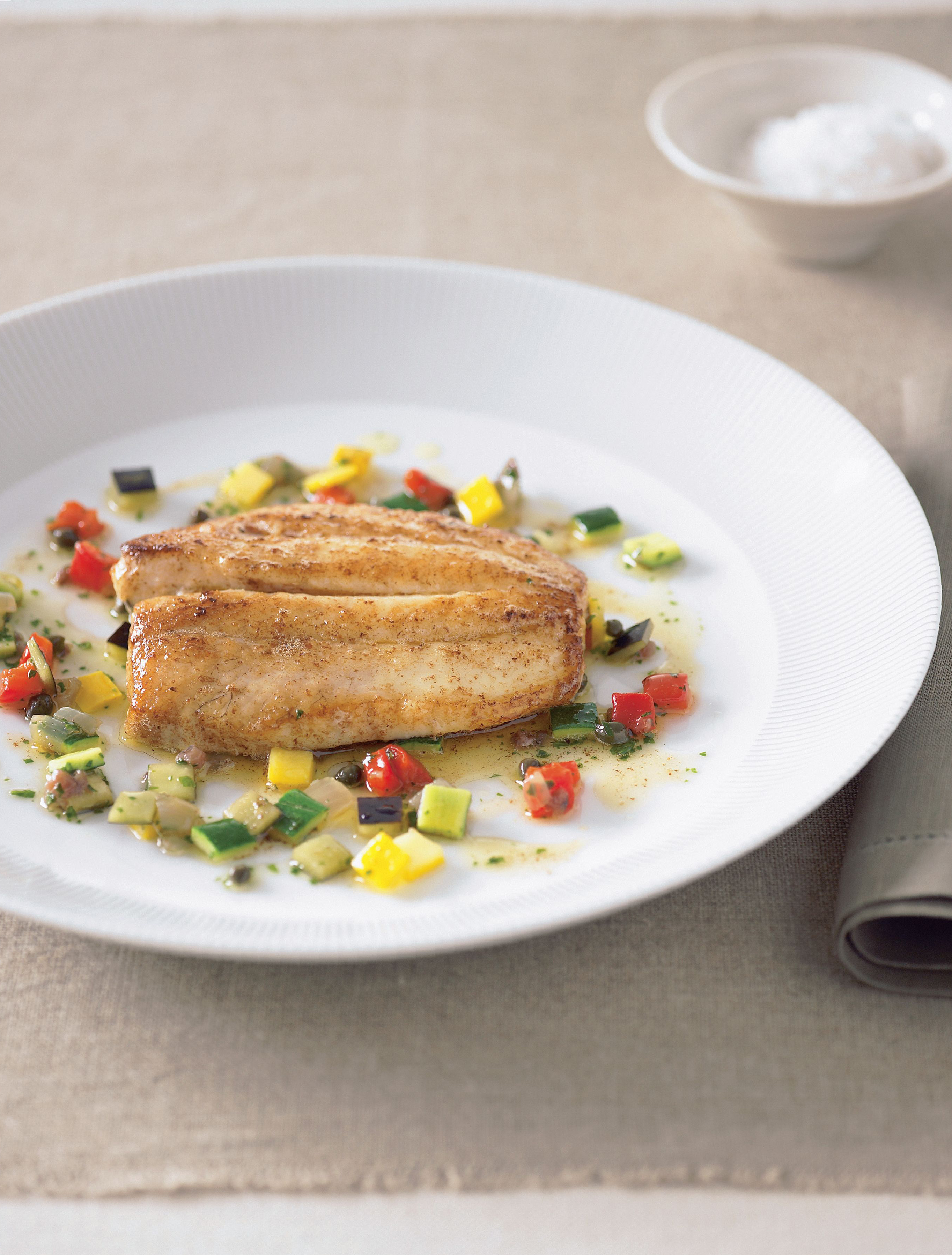 Pan-fried John Dory
