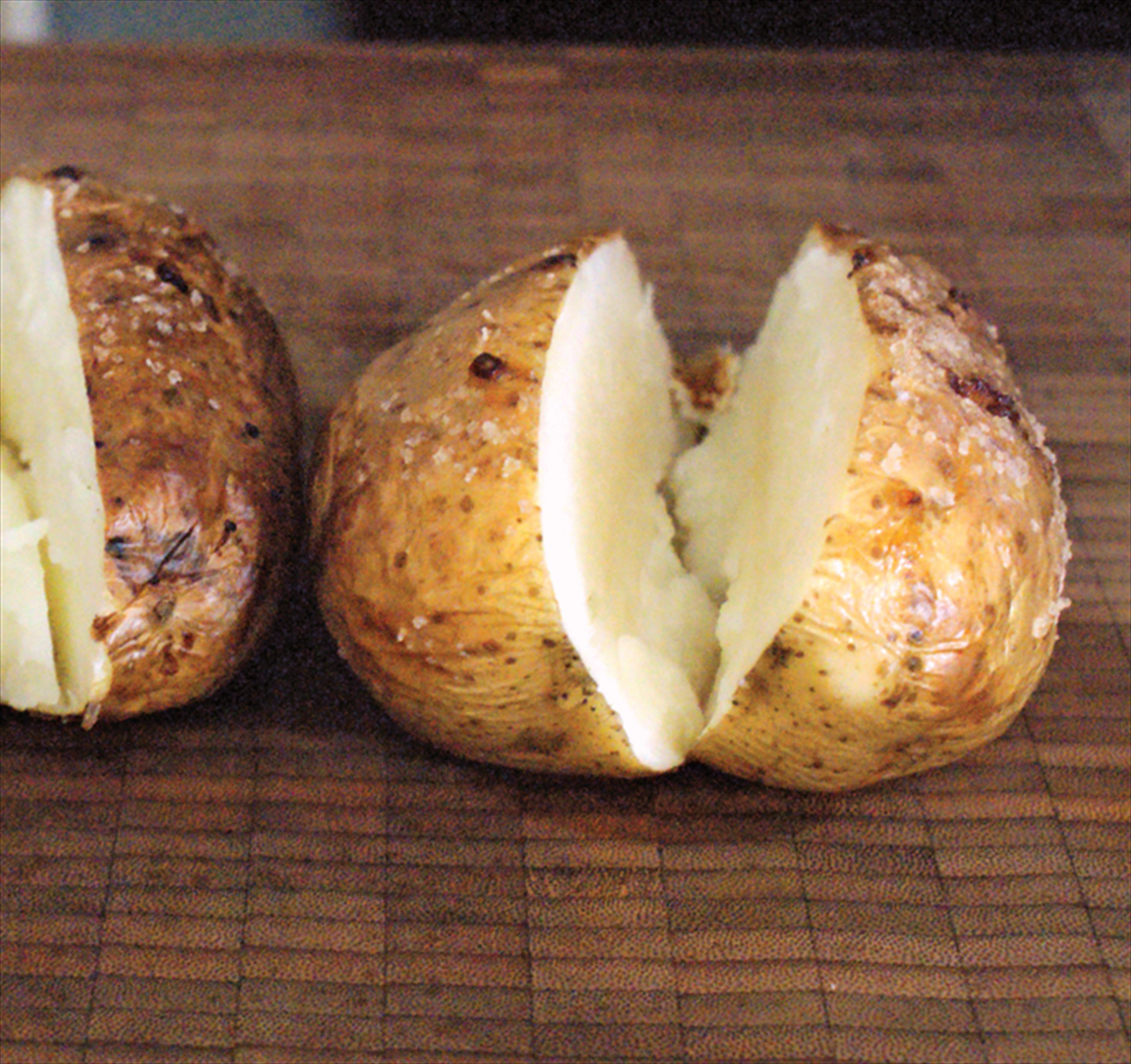 Bake a jacket potato