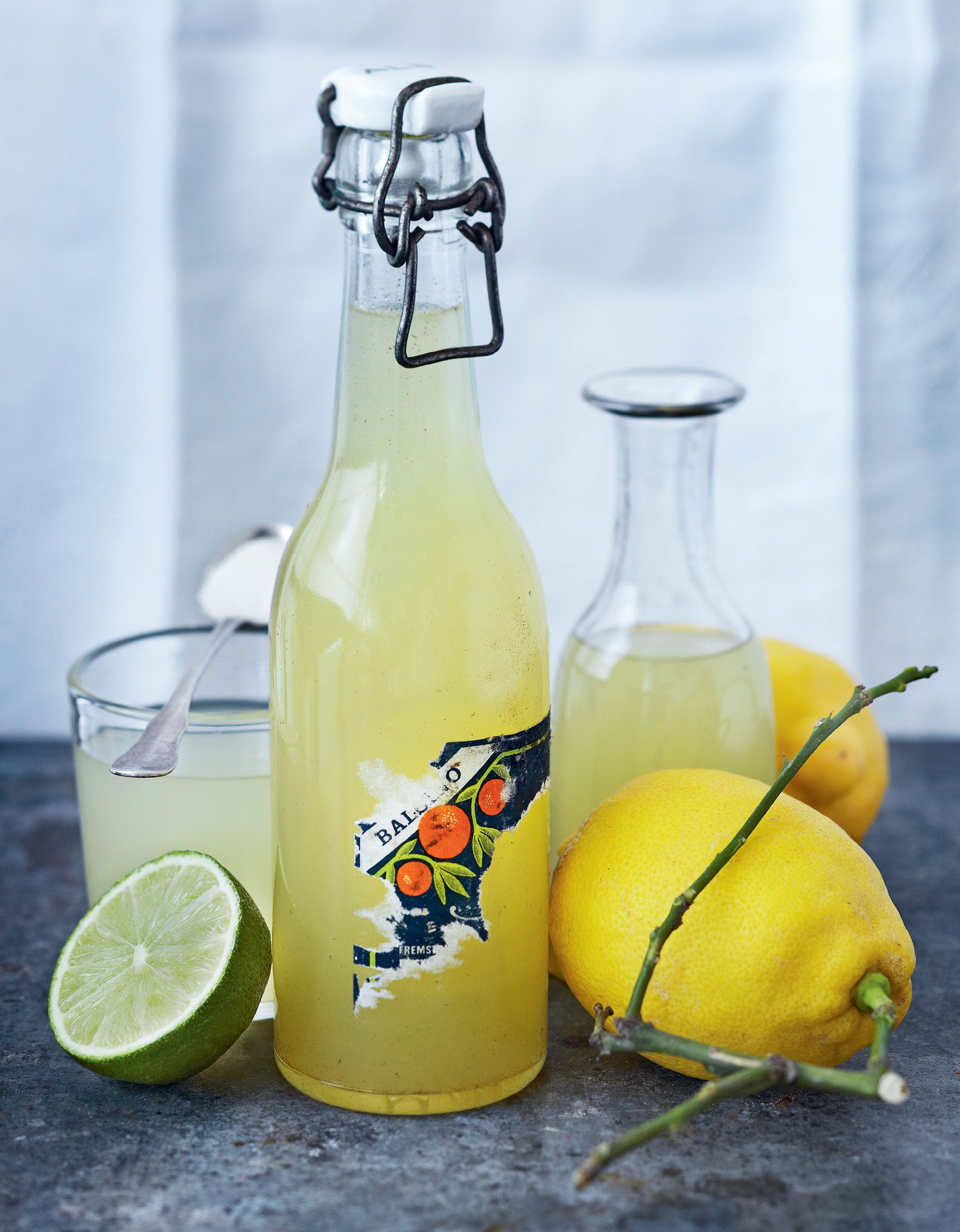 Lemon-lime syrup