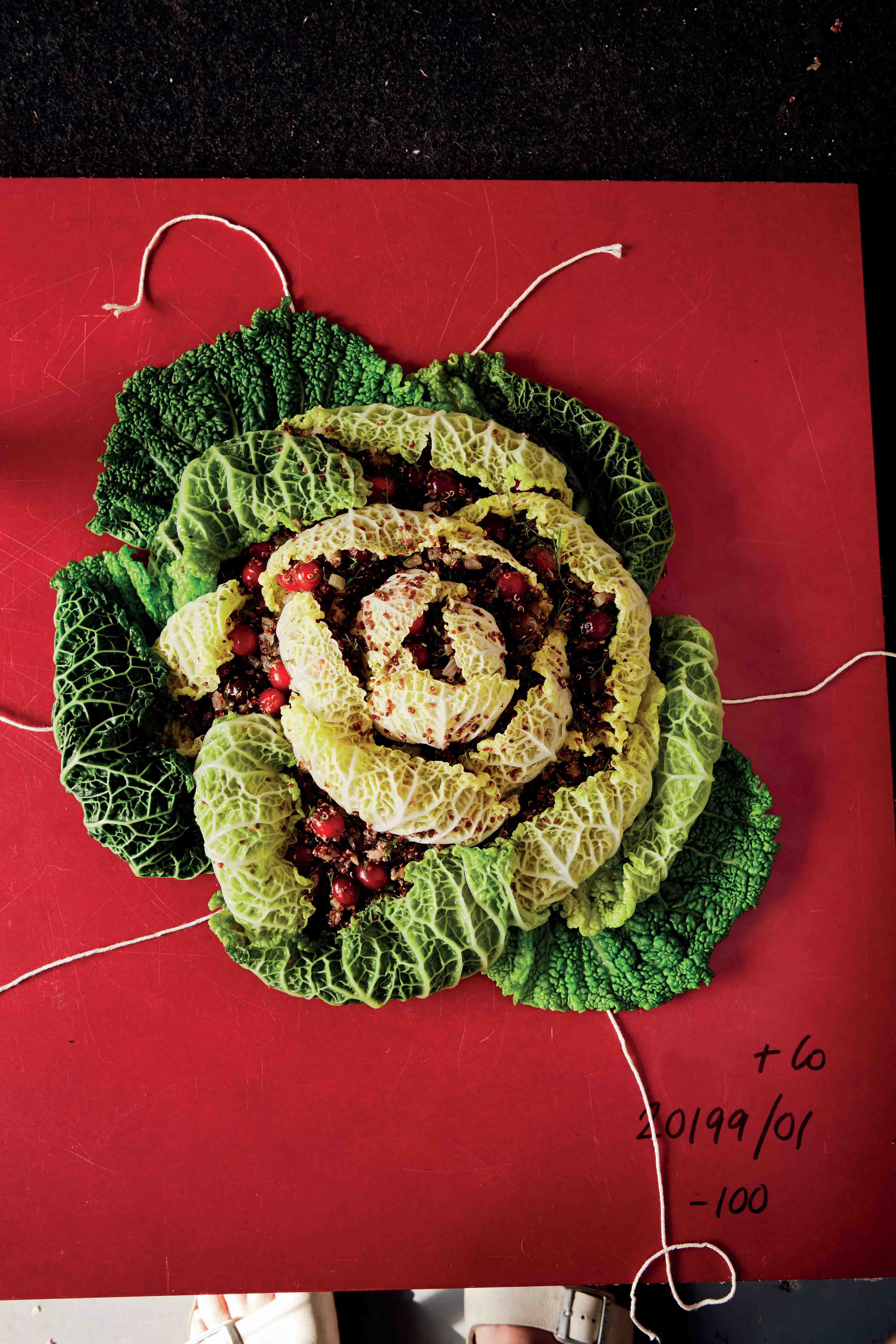 Spectacular Russian stuffed cabbage rose
