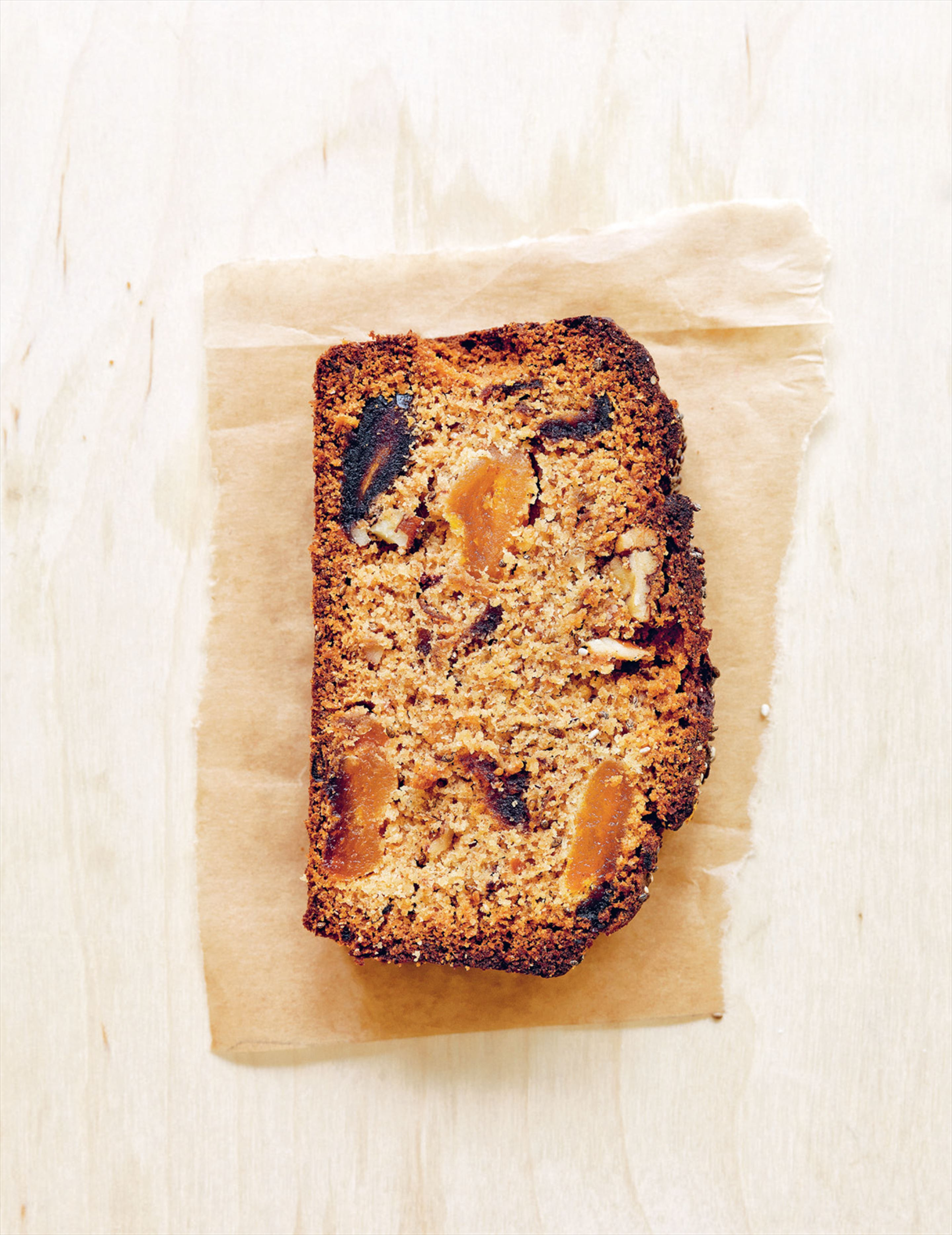 Date, orange & chia loaf