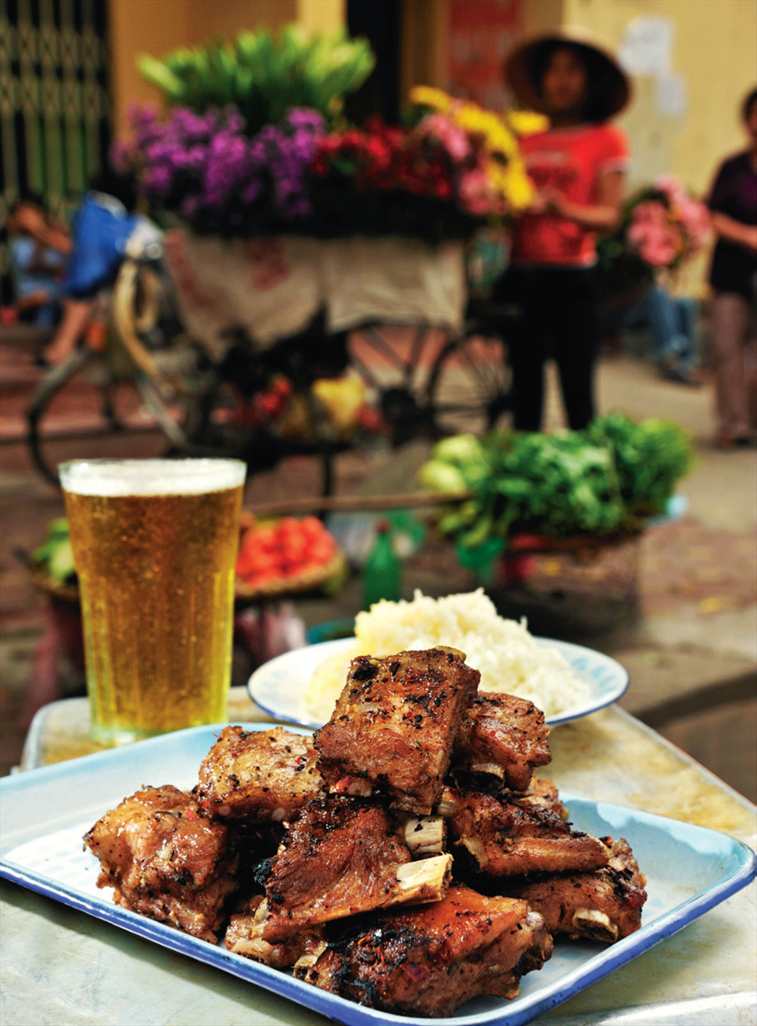 Barbecued pork ribs