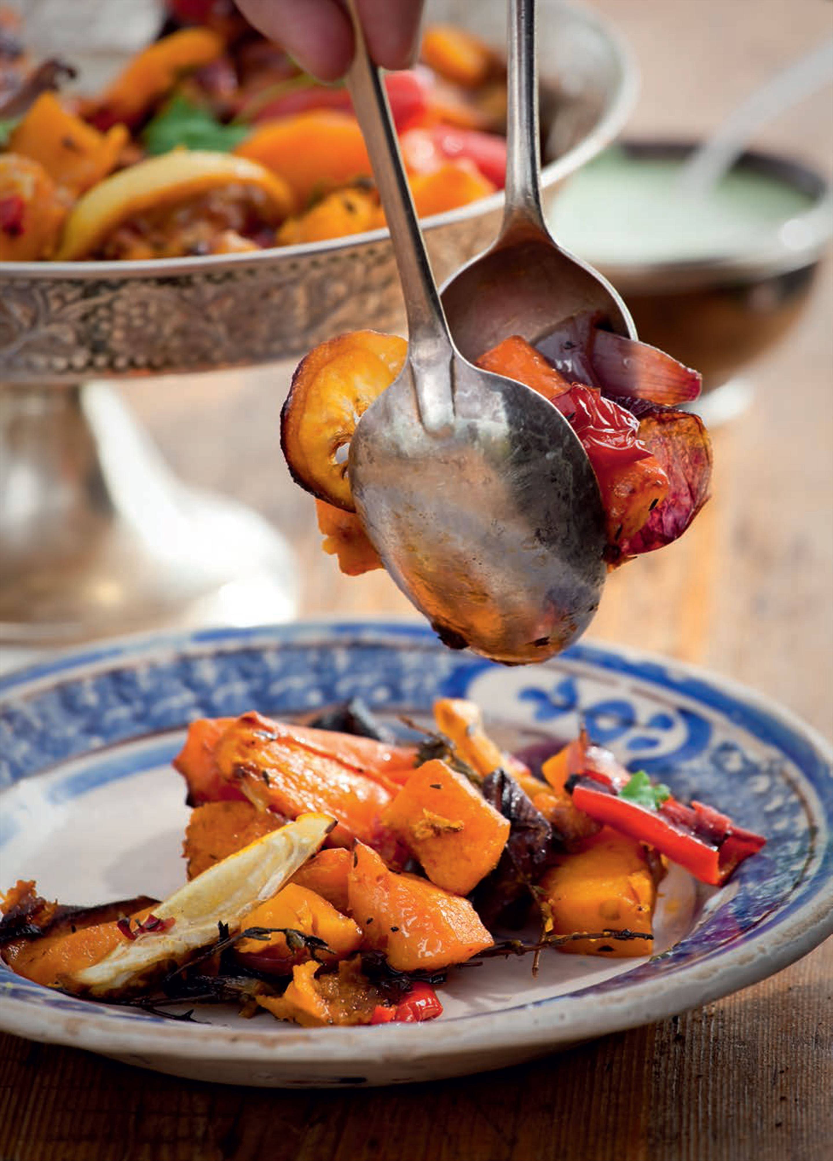 Autumn roasted vegetables