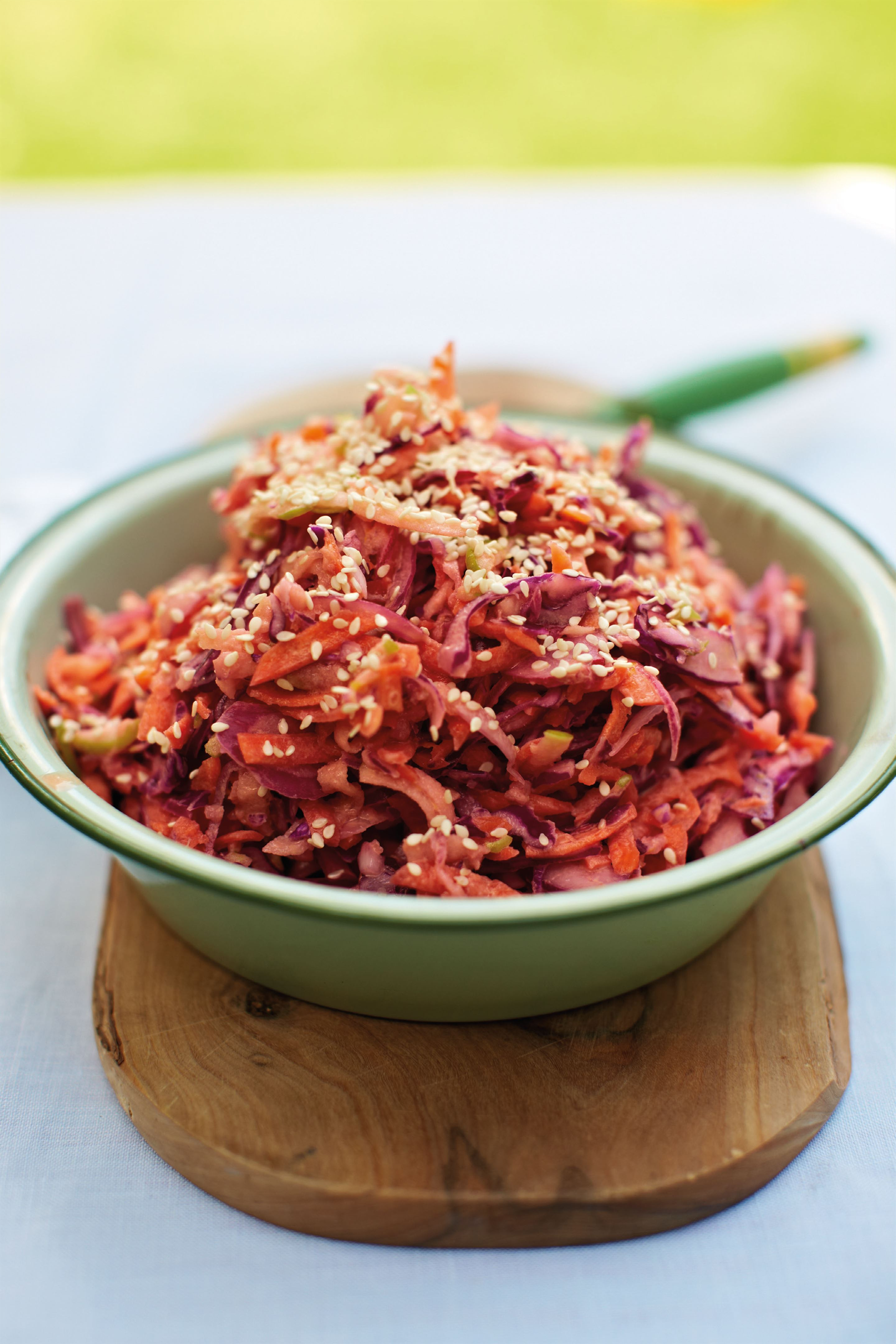 Burger relish style coleslaw