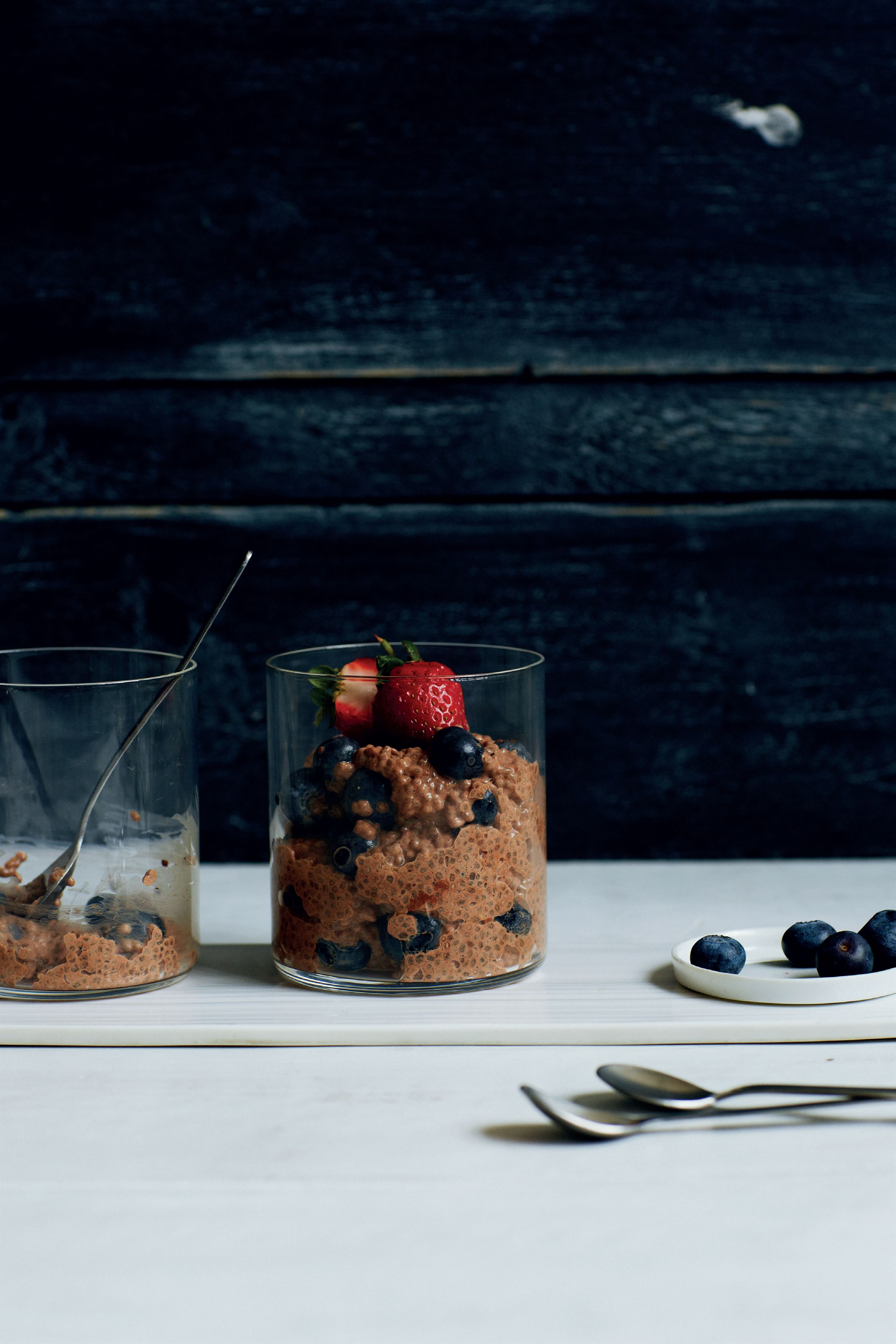 Superfood chia pudding