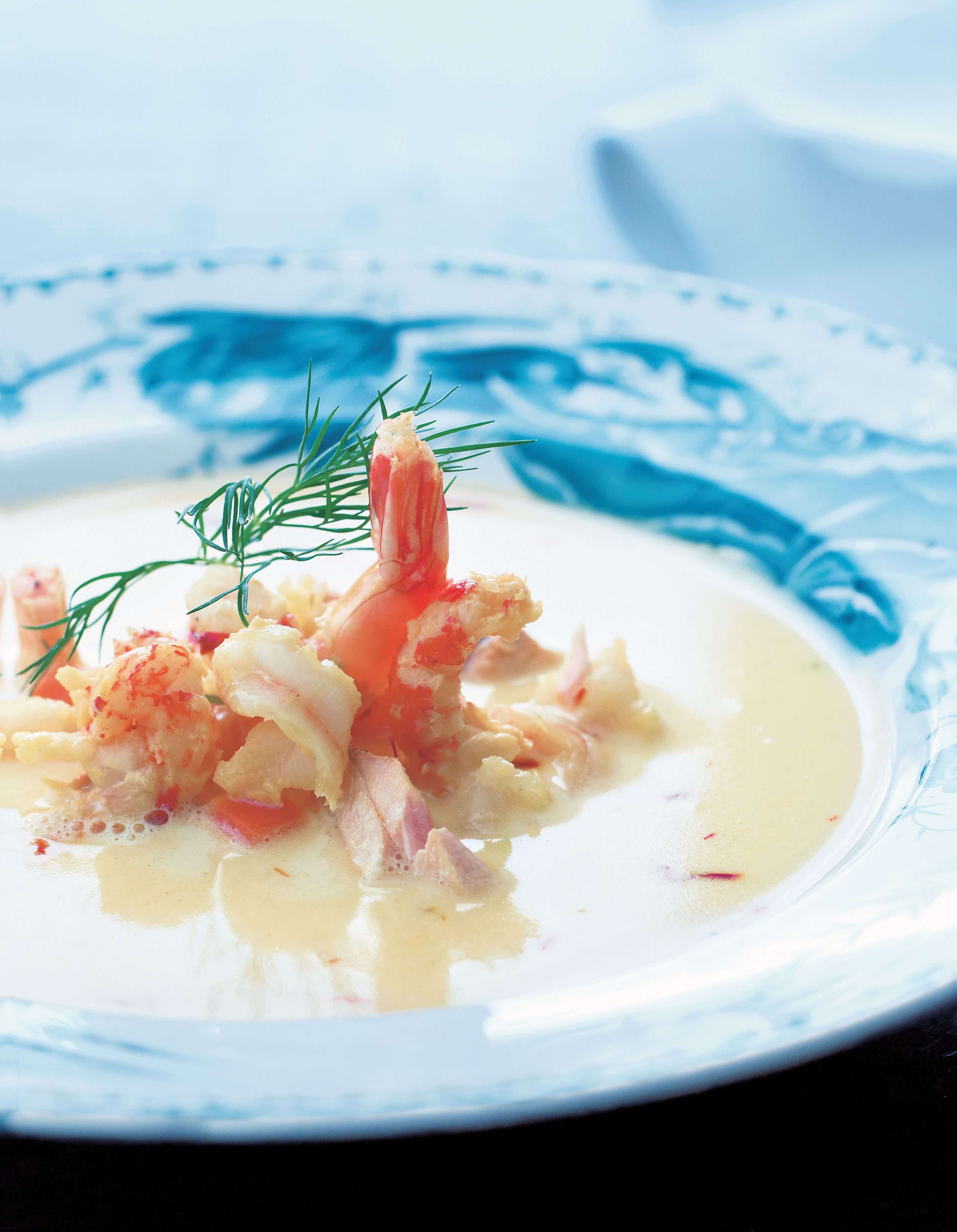 Skagen fish soup