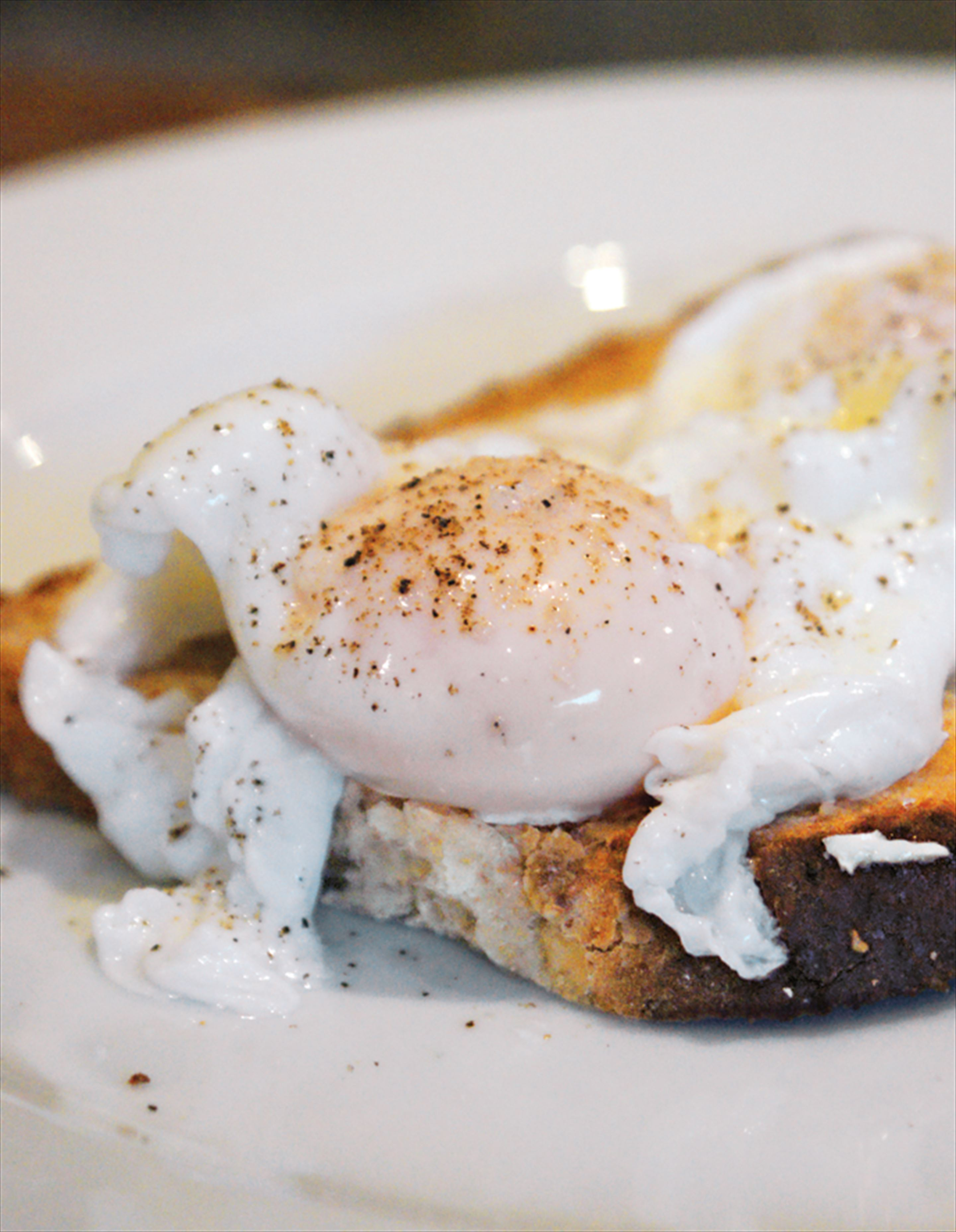 The perfect poached egg