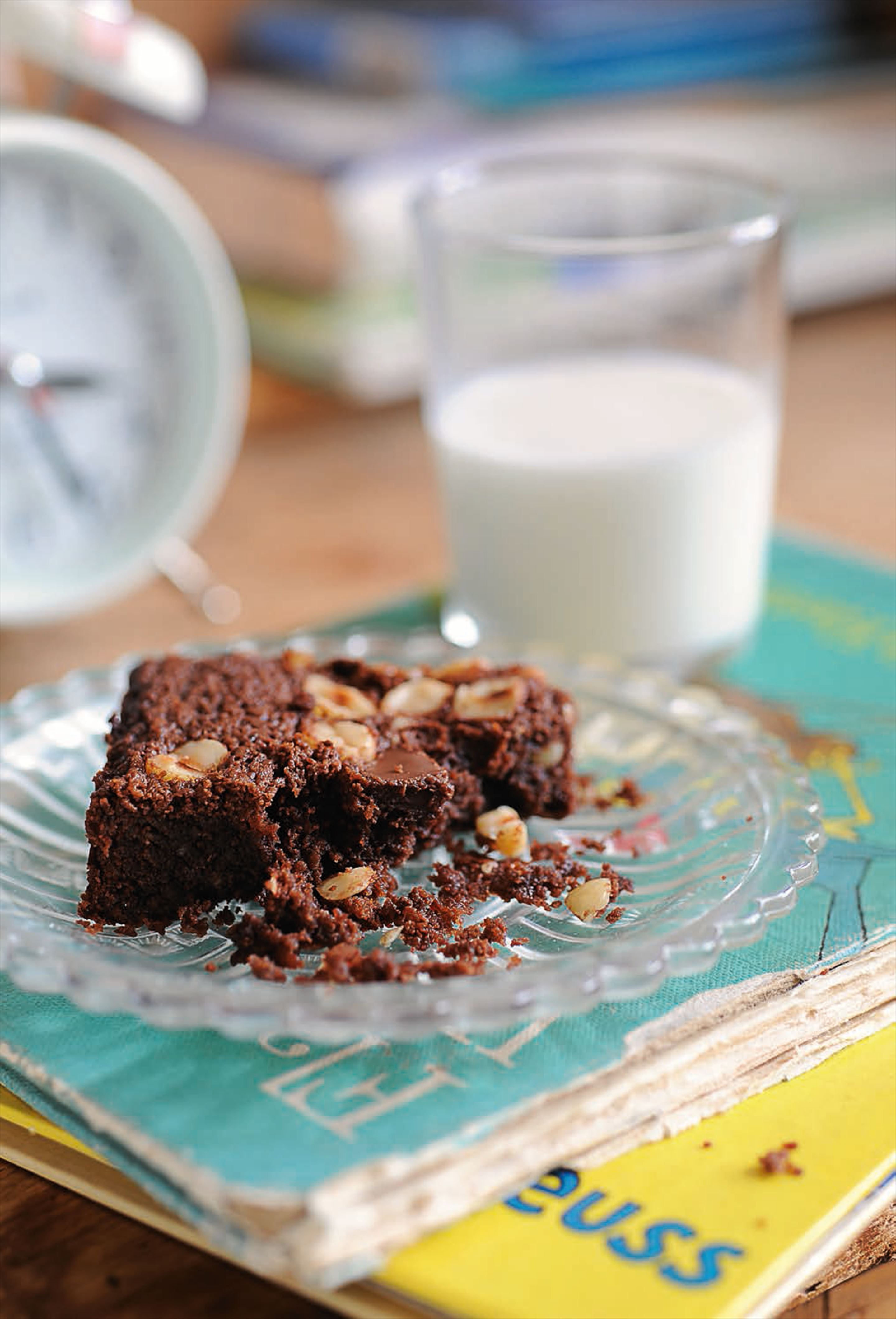 Guaranteed-super-squidgy chocolate brownies