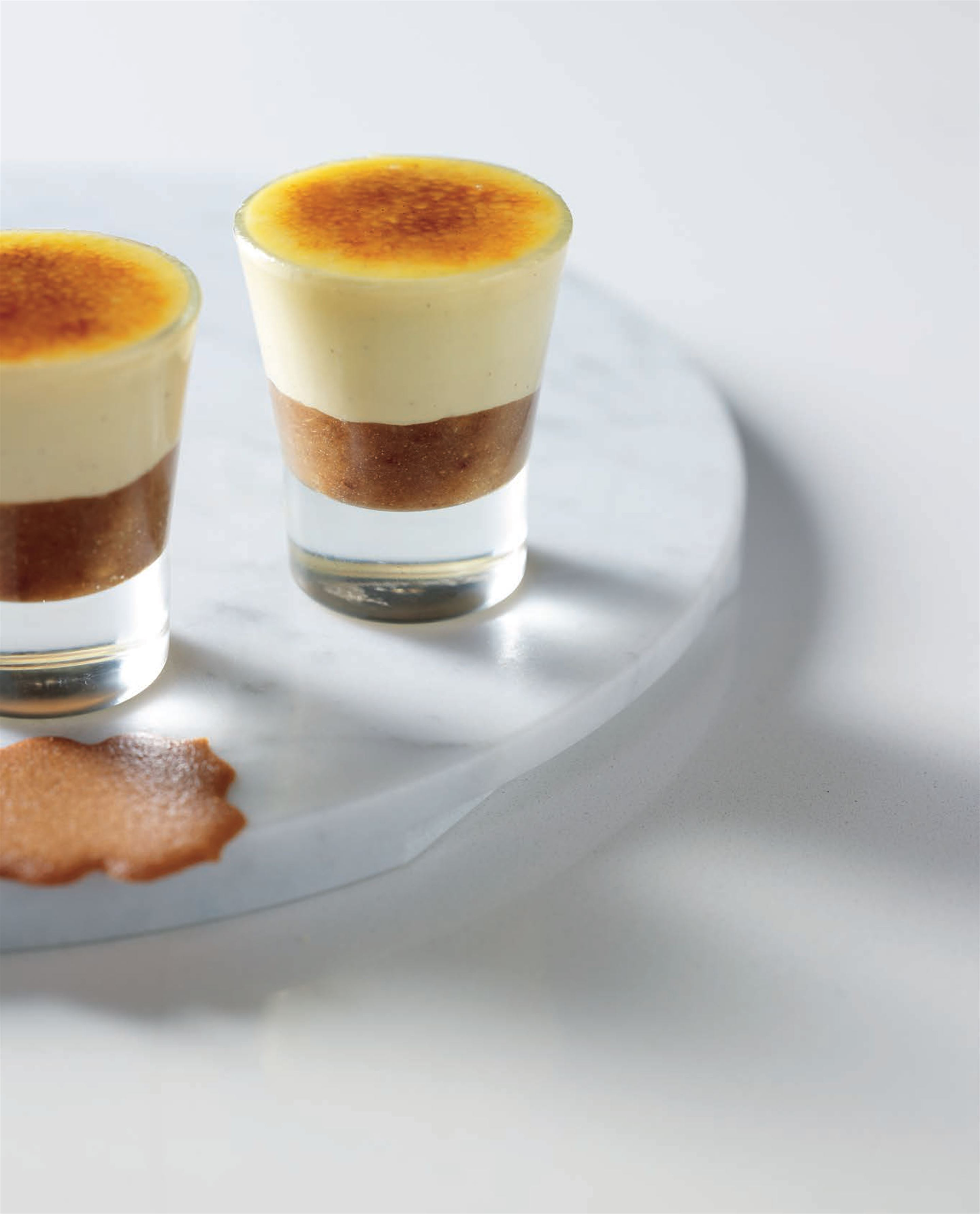 Date brûlée with Kahlúa