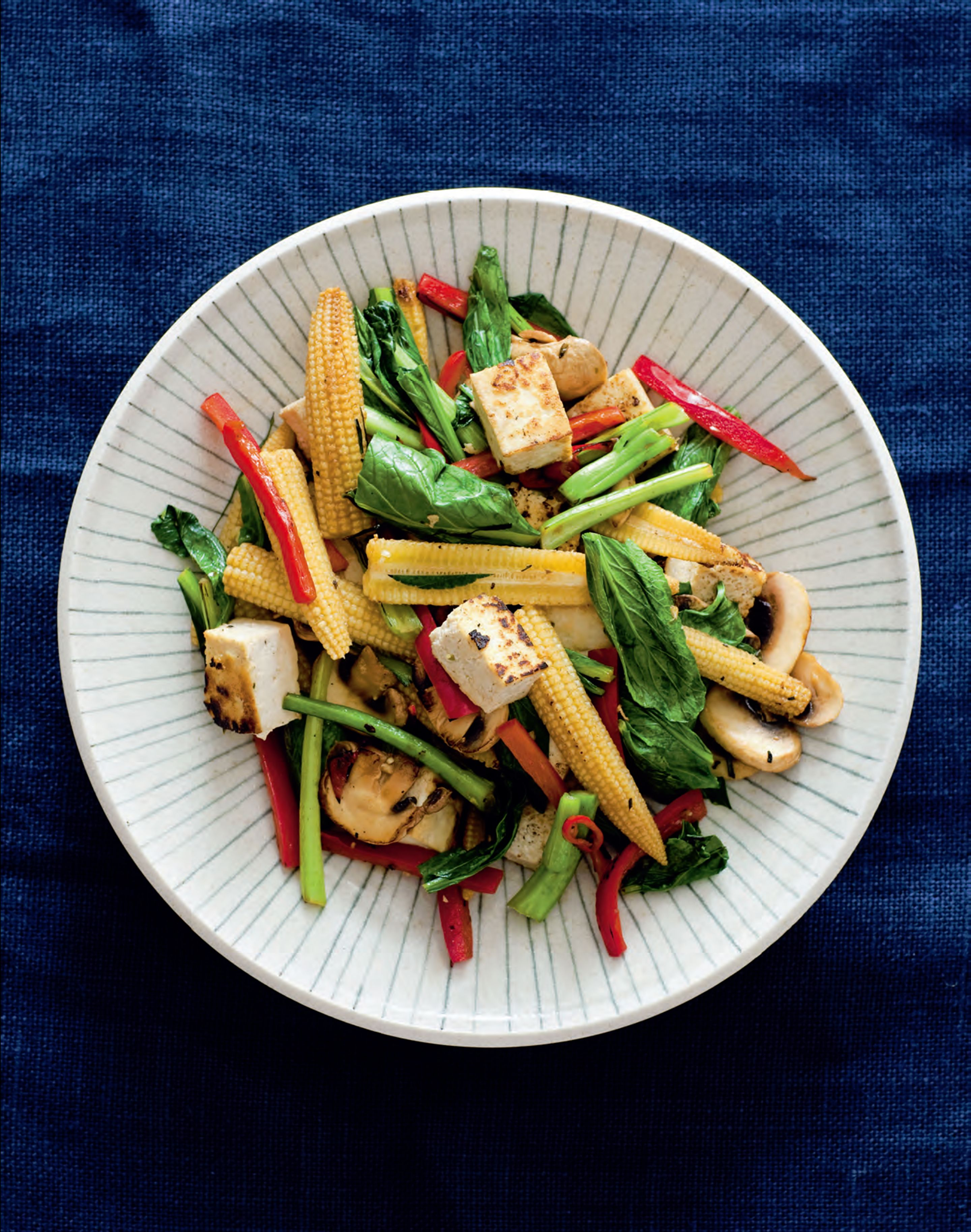 Vietnamese tofu and vegetable stir-fry