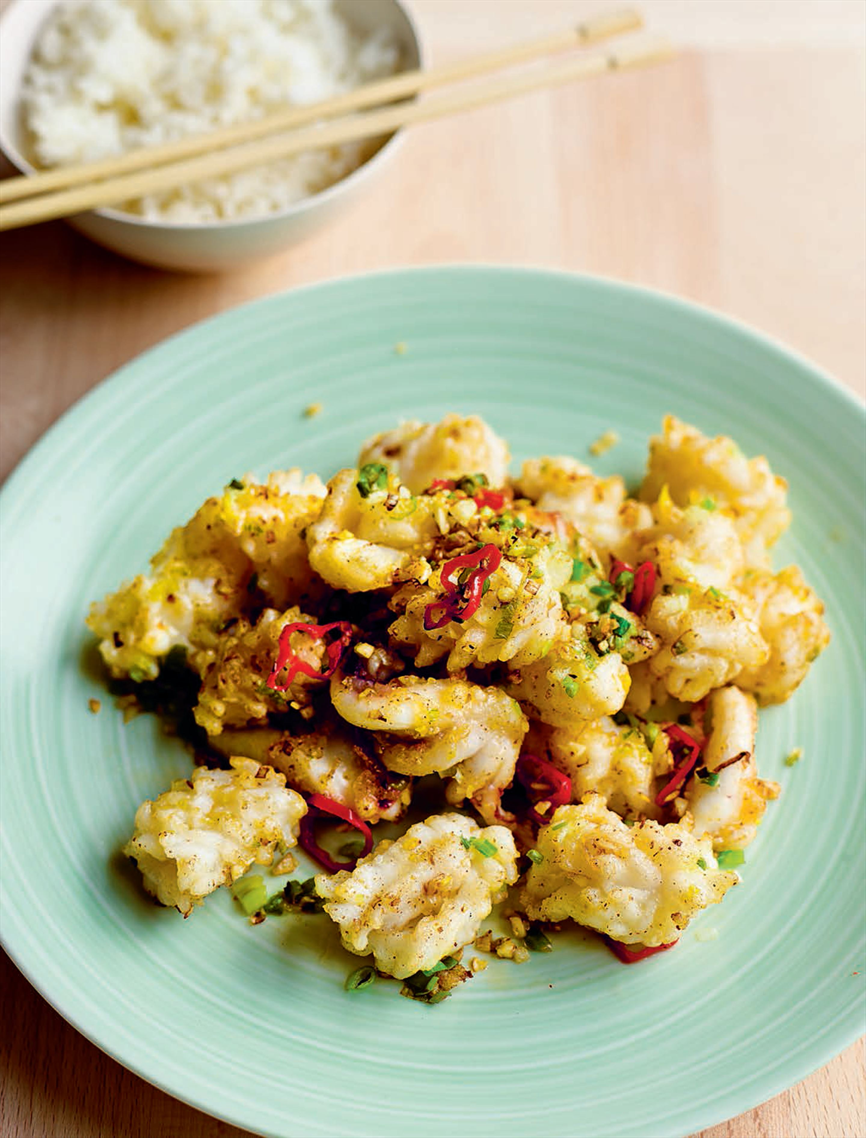 Salt-and-pepper squid