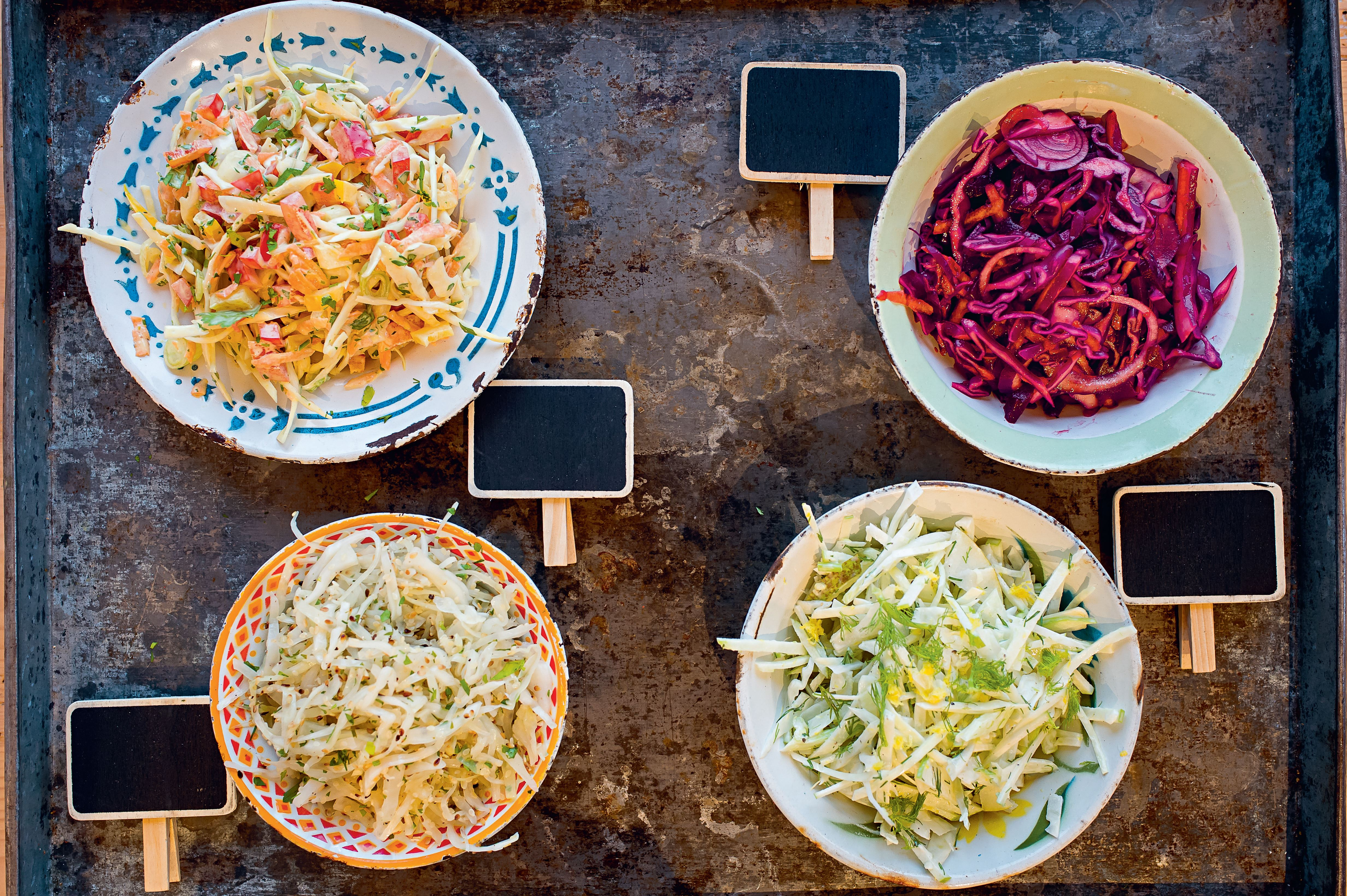 Fennel pear & apple slaw with buttermilk dressing