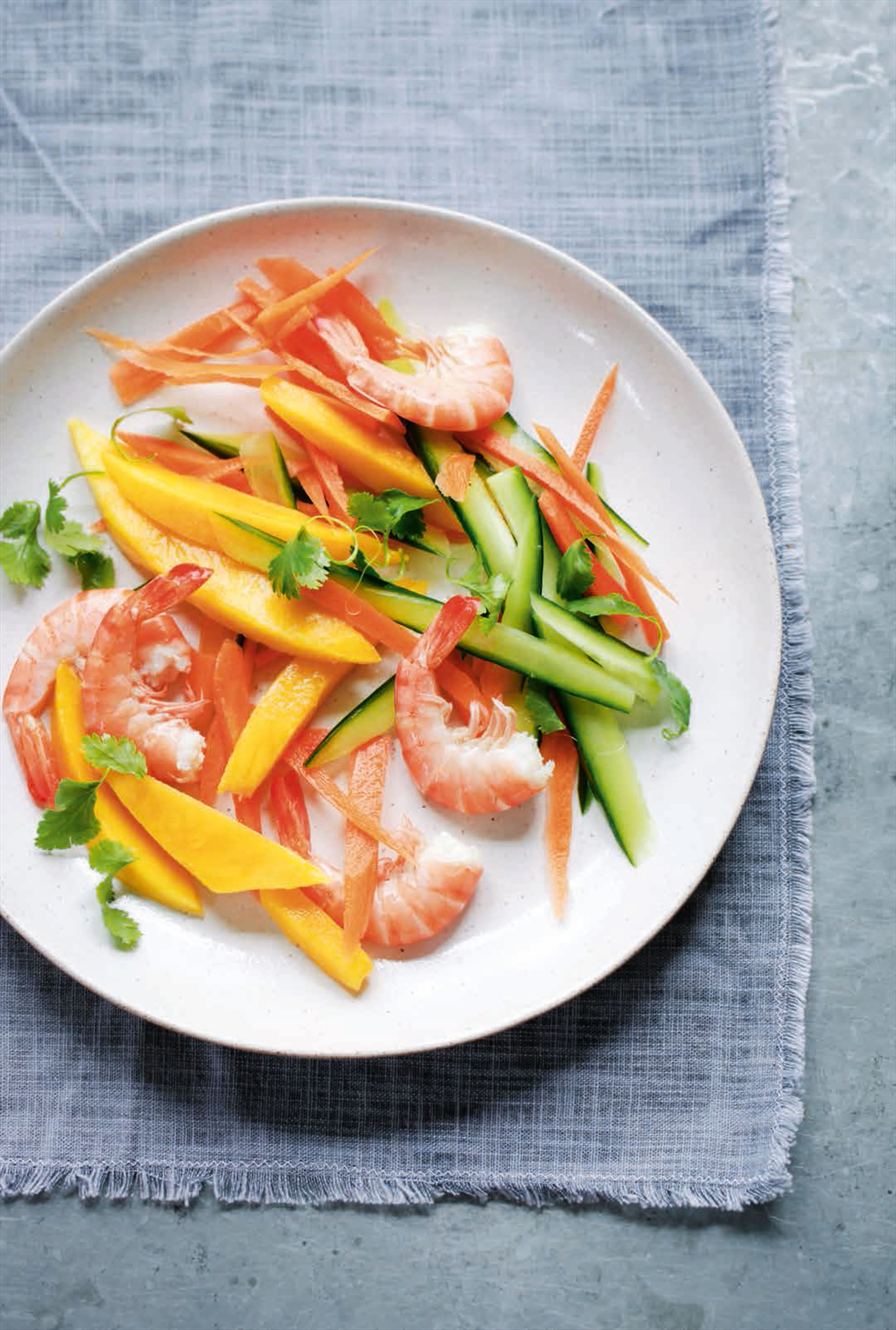King prawn & mango salad