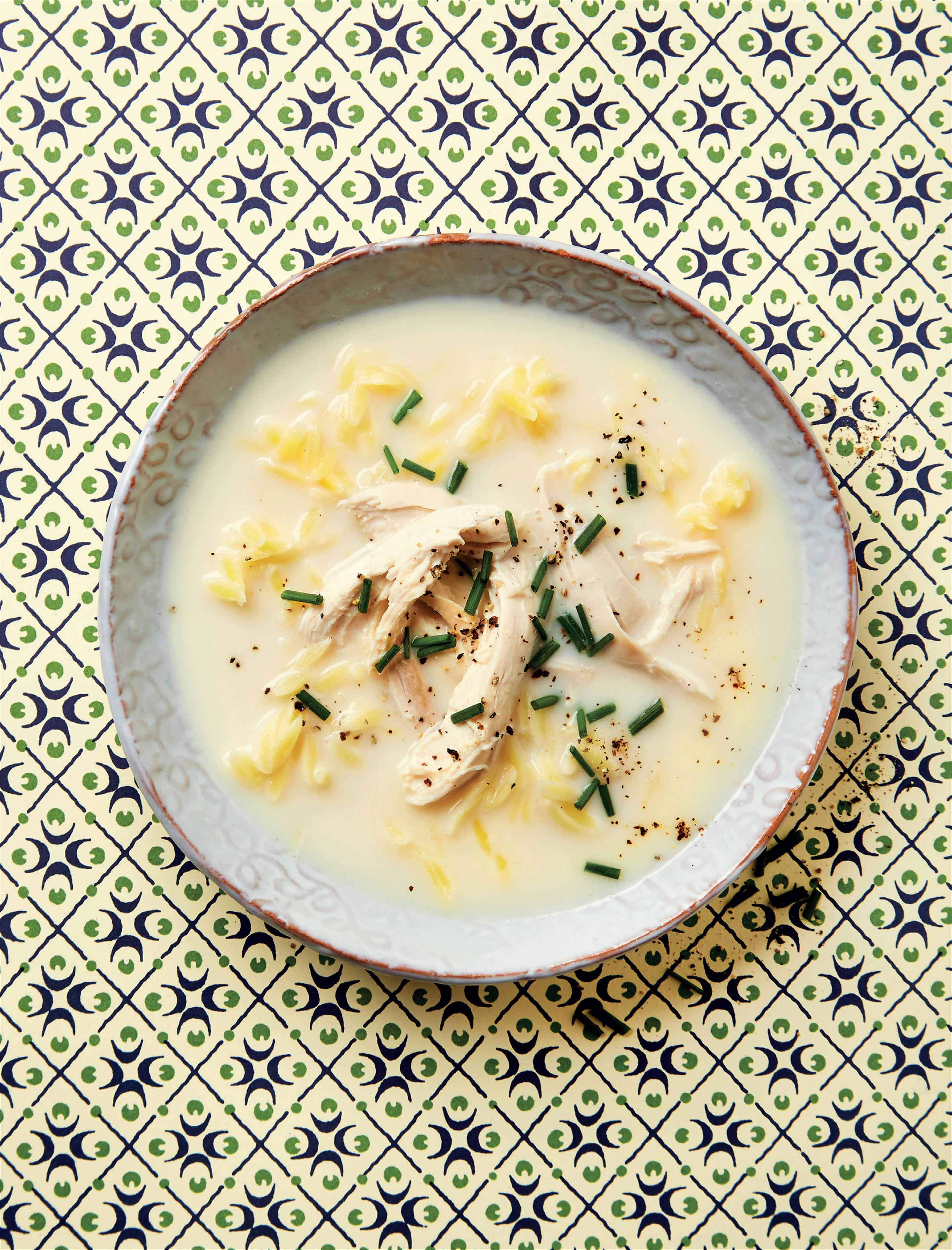 Avgolemono lemon & egg soup