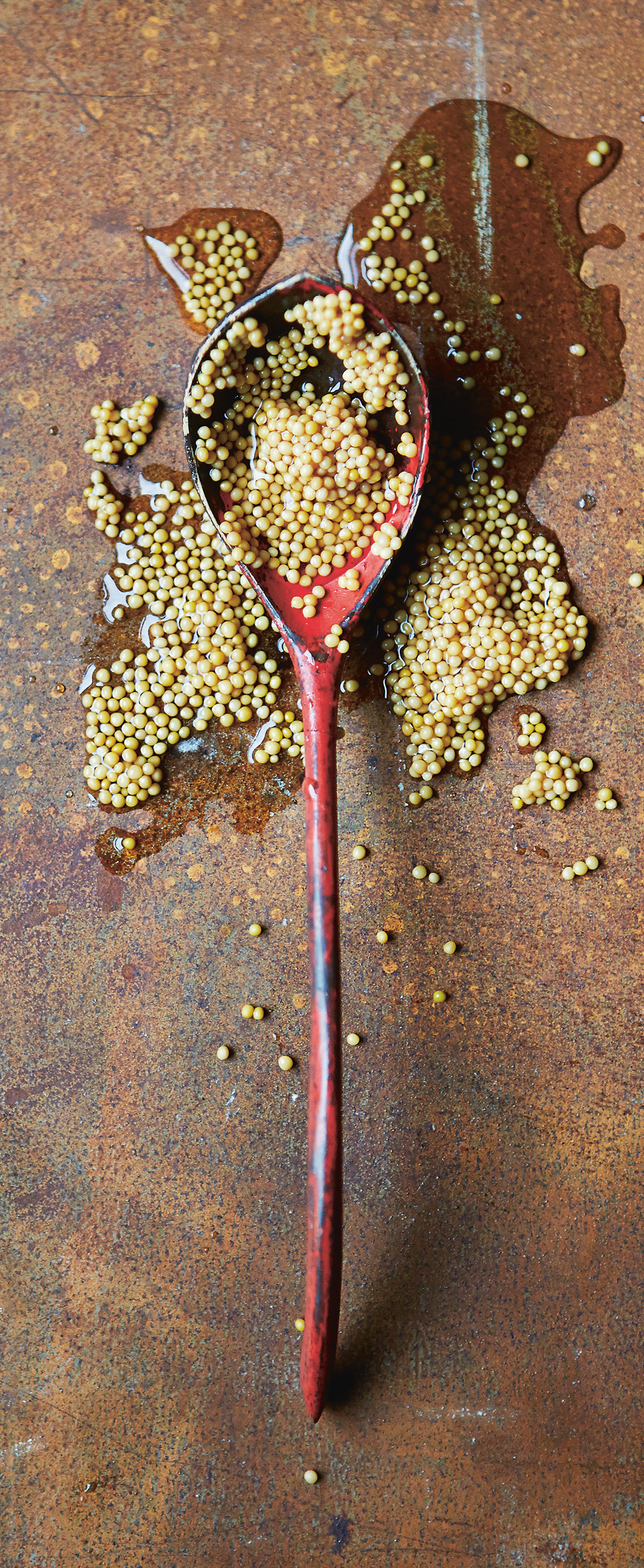 Pickled mustard seeds