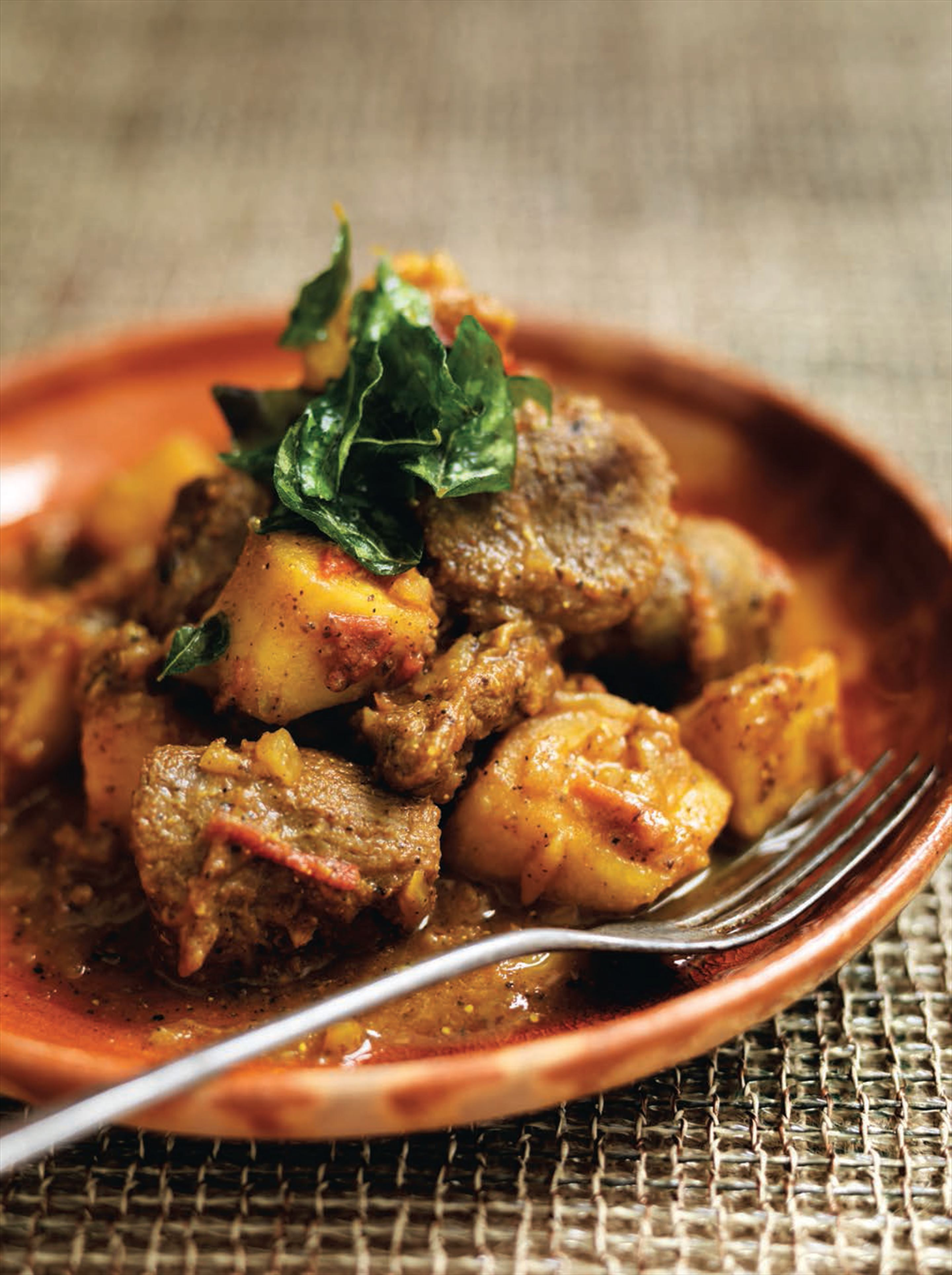 Kerala pork curry (South India)