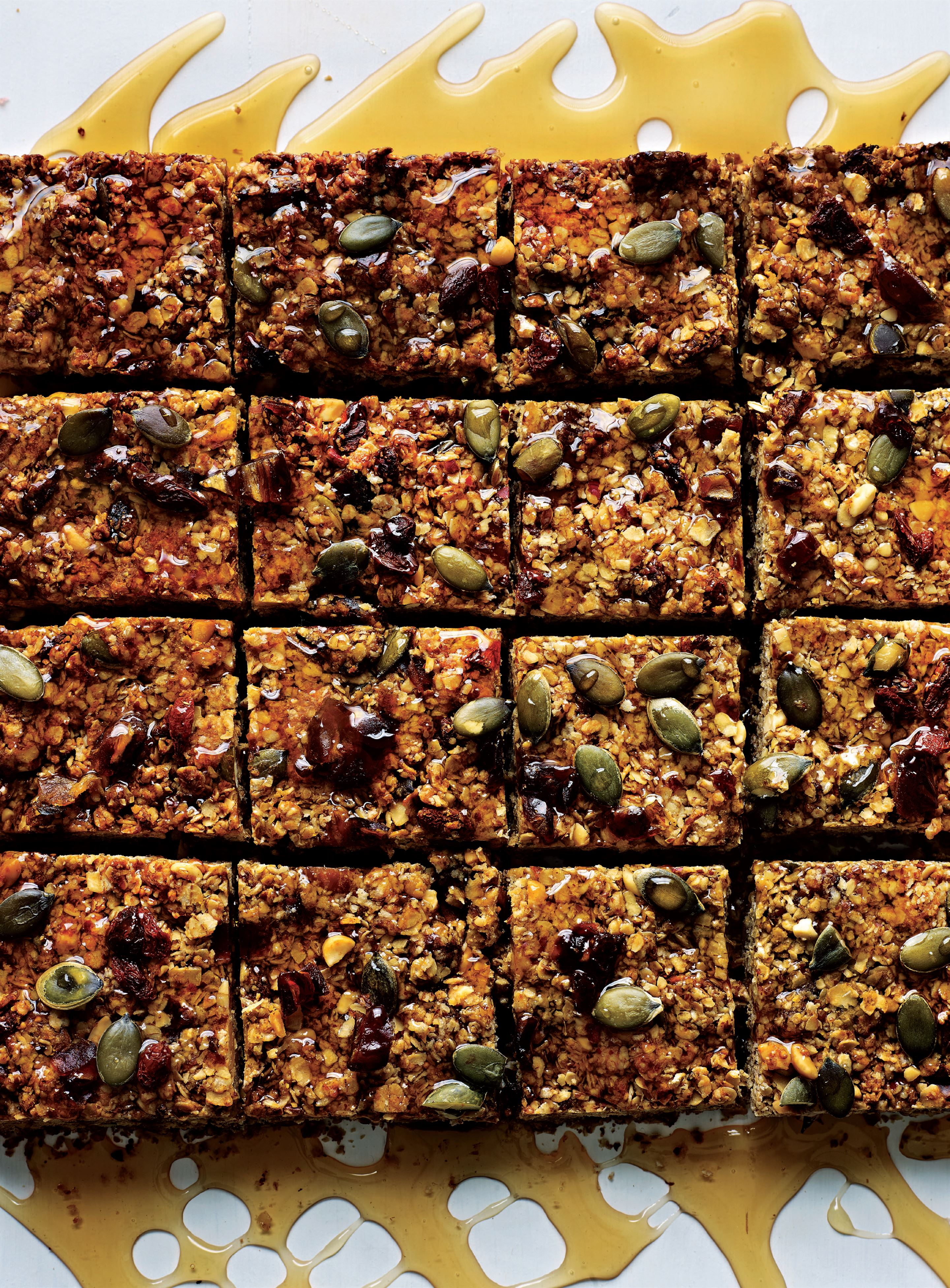 Blast-off breakfast bars