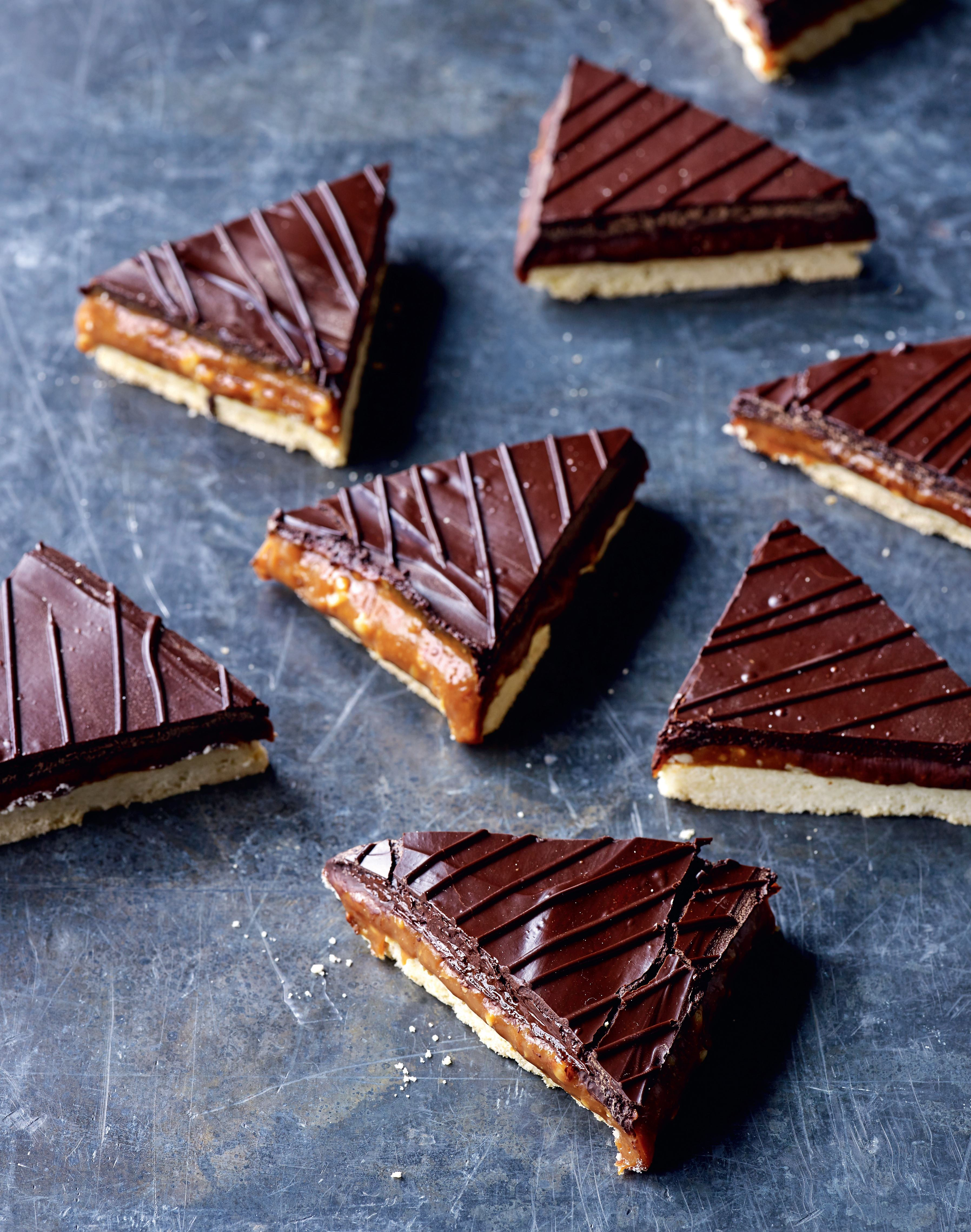 Billionaire's shortbread