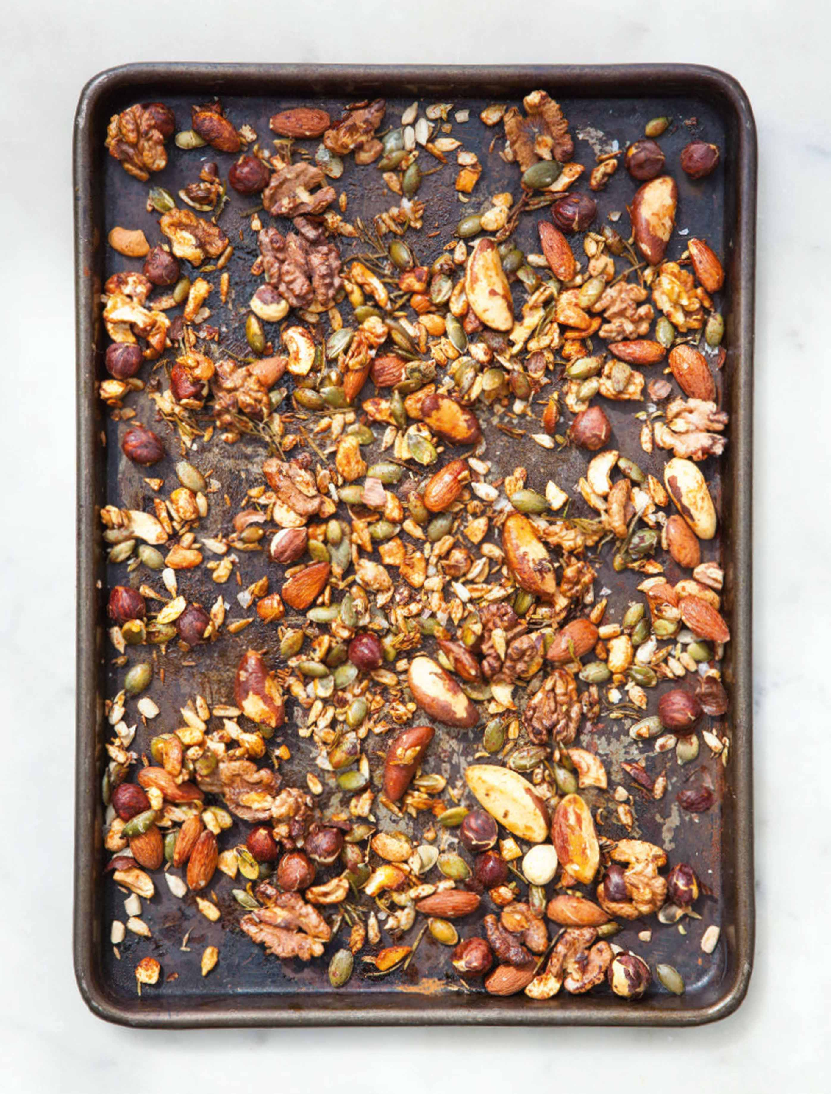 Spiced nuts and seeds