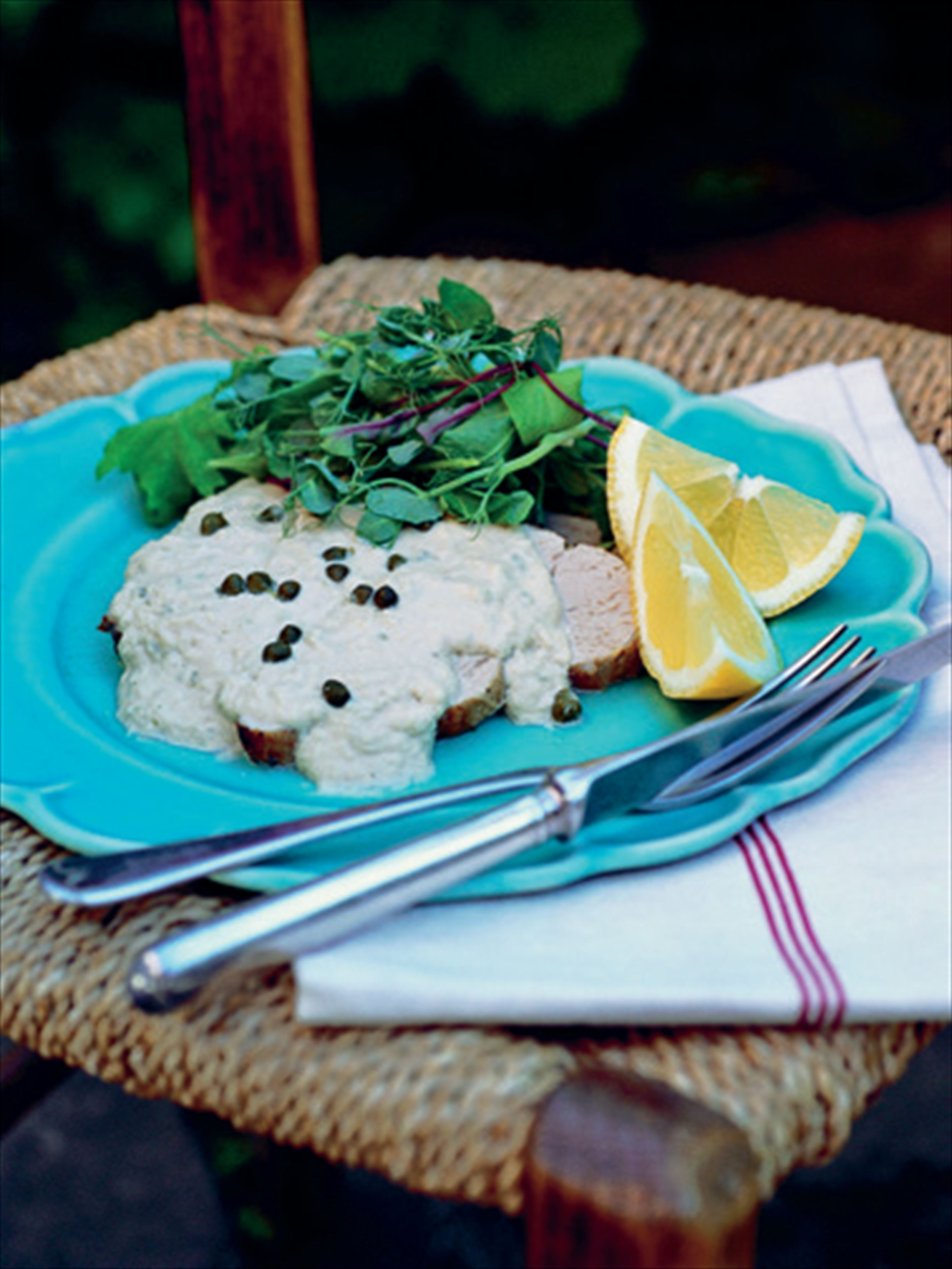 Easy summer tonnato