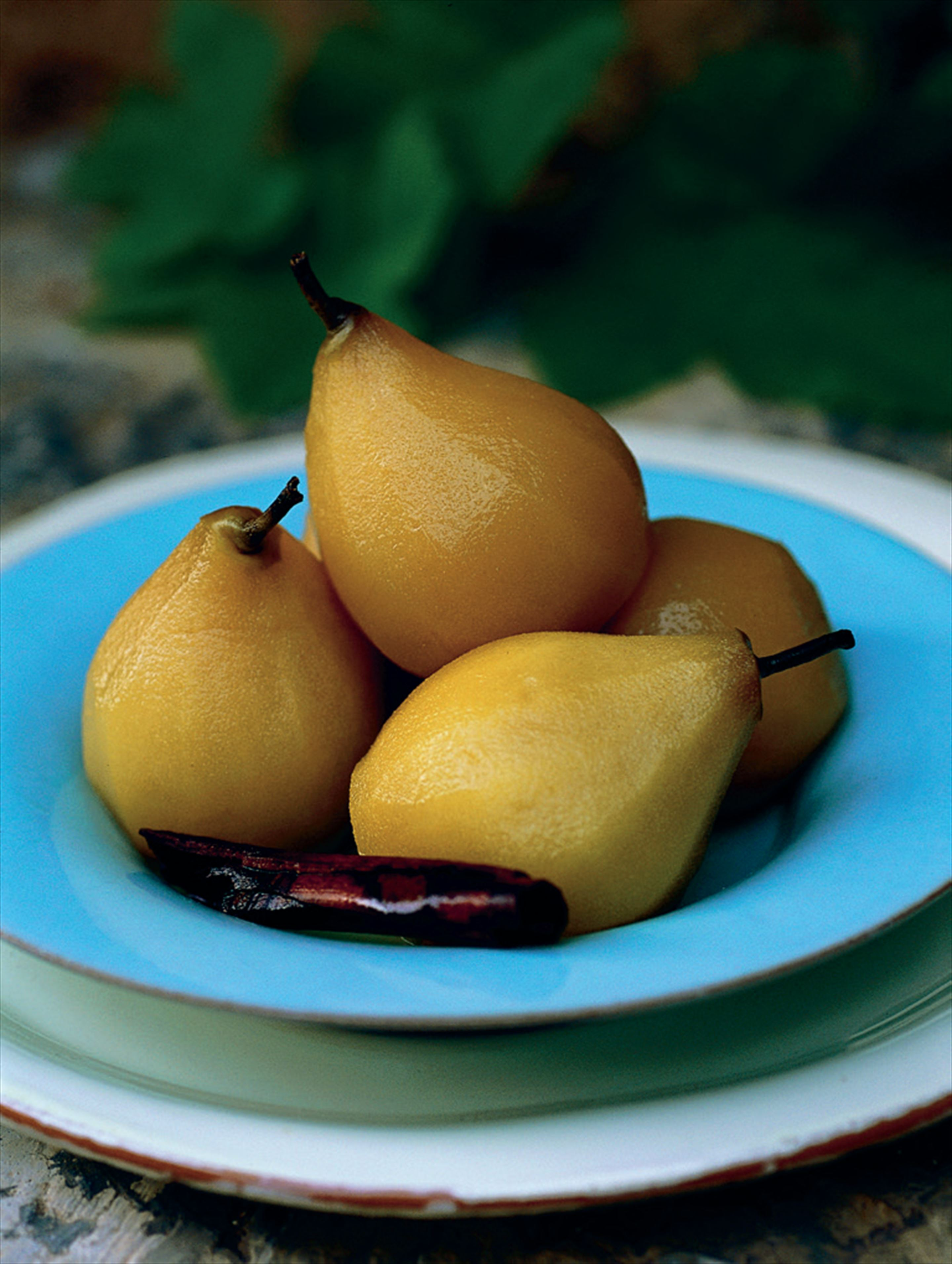 Swedish ginger pears