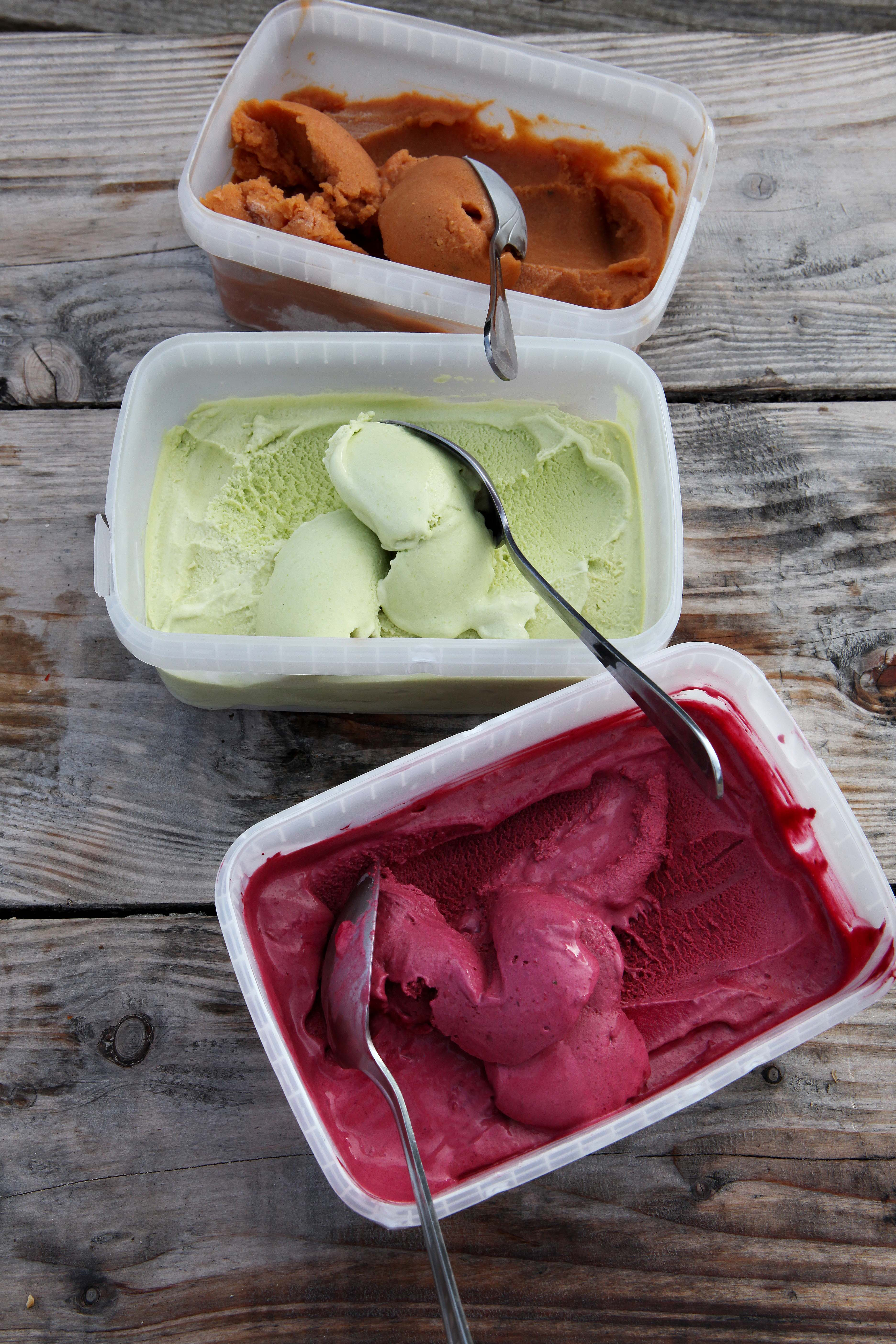 River Cottage's Chocolate and beetroot ice cream