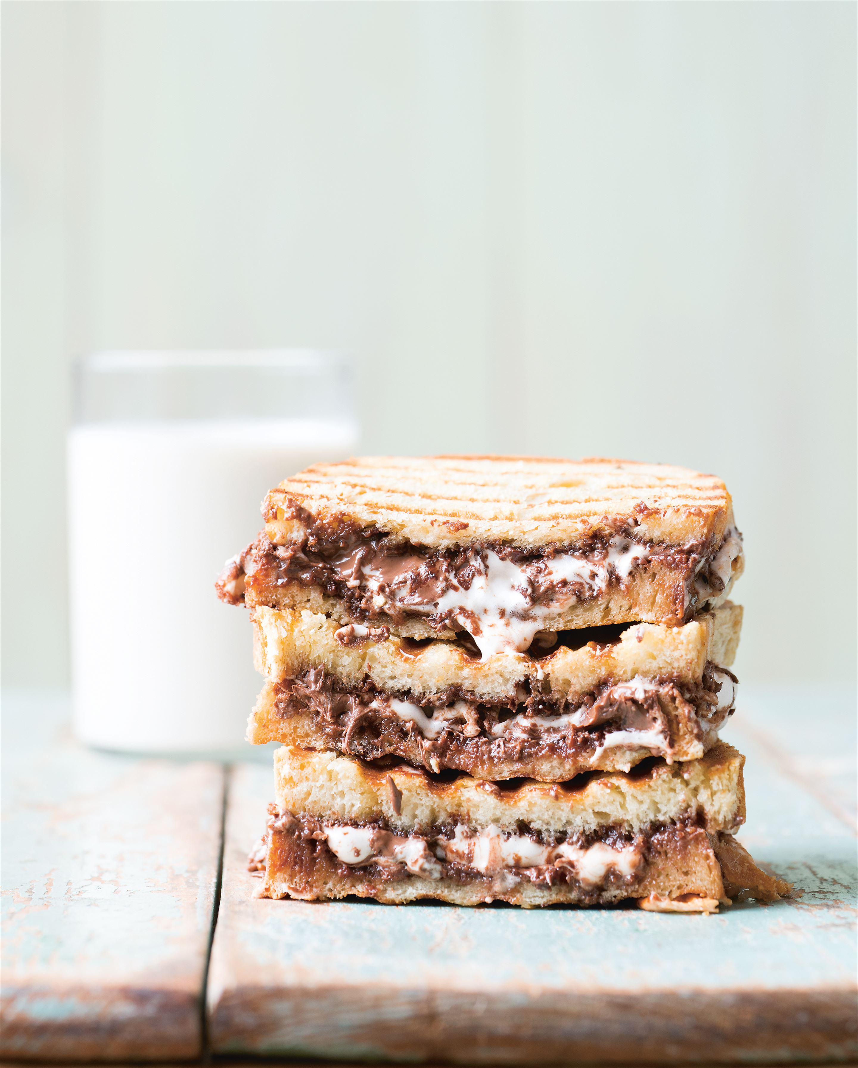 Malty nutella & marshmallow