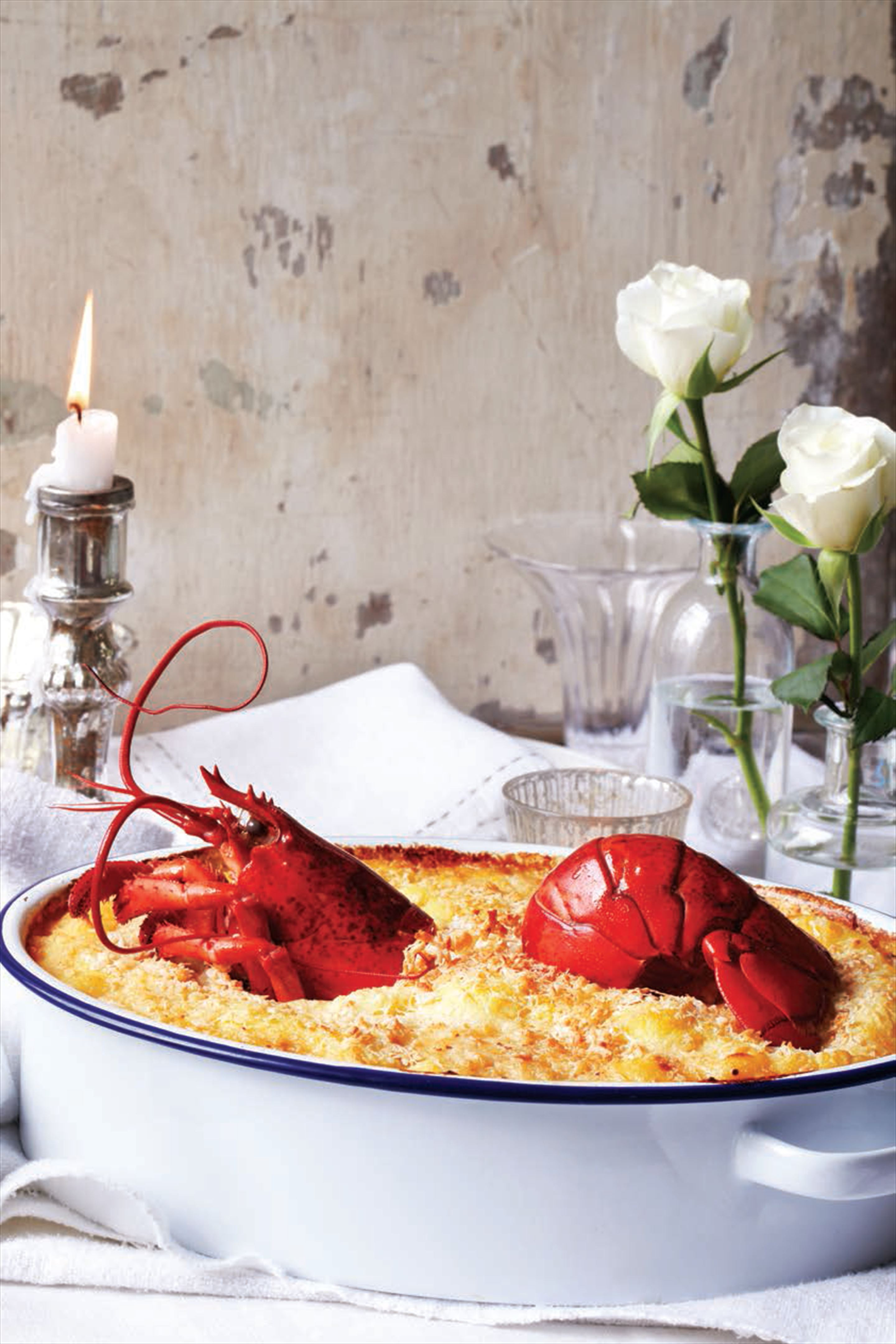 Eyes to the sky posh fish pie