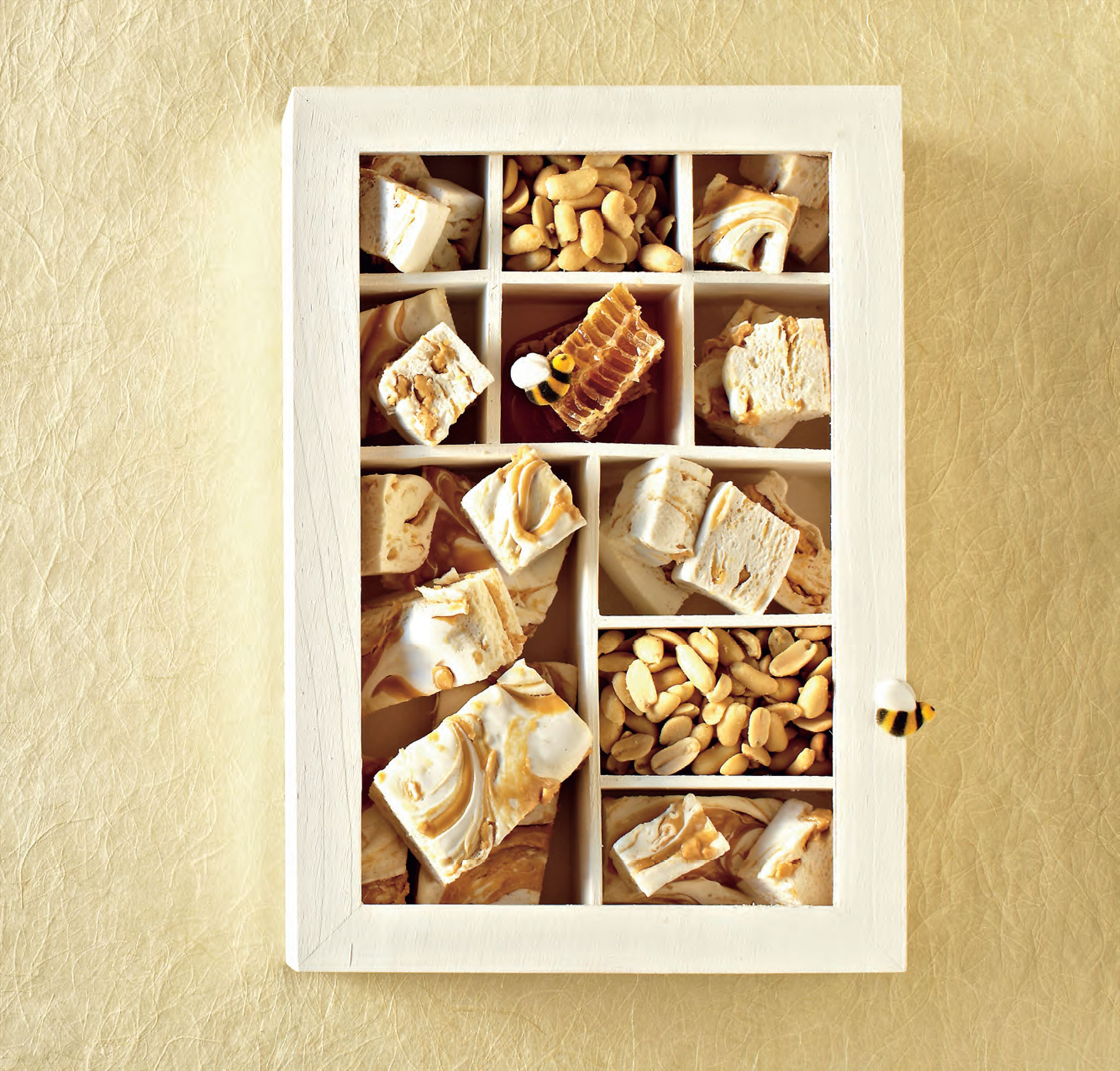 Honey & peanut butter swirl marshmallows