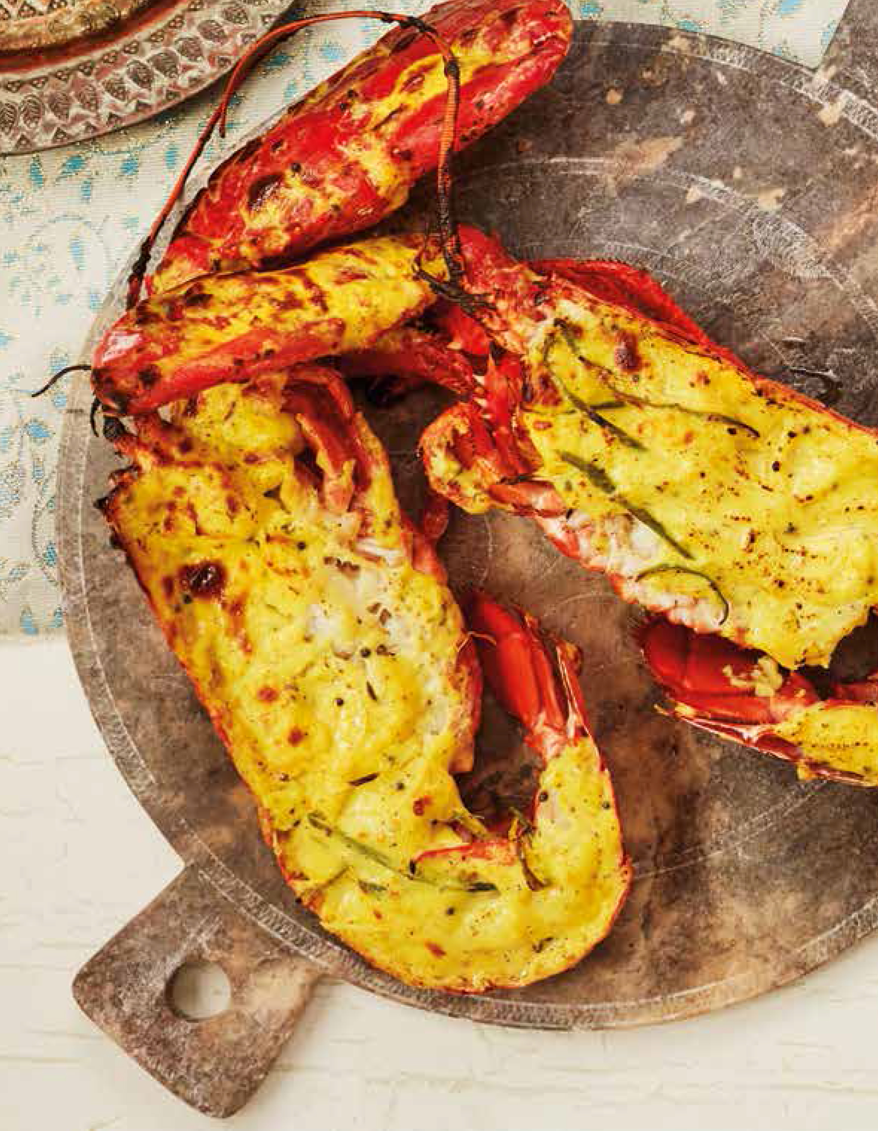 Lobster with coconut, ginger and chilli