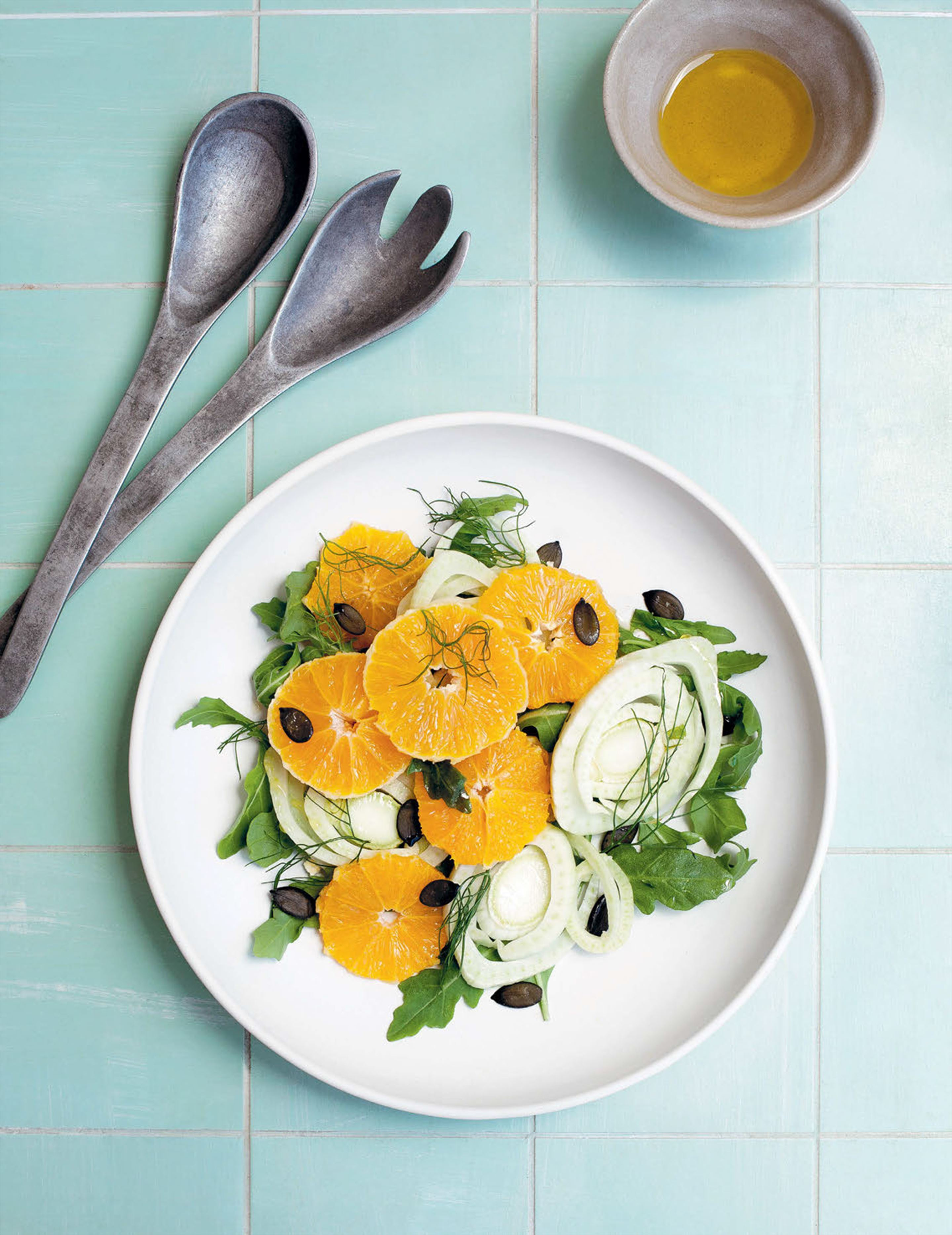 Fennel, orange and rocket salad
