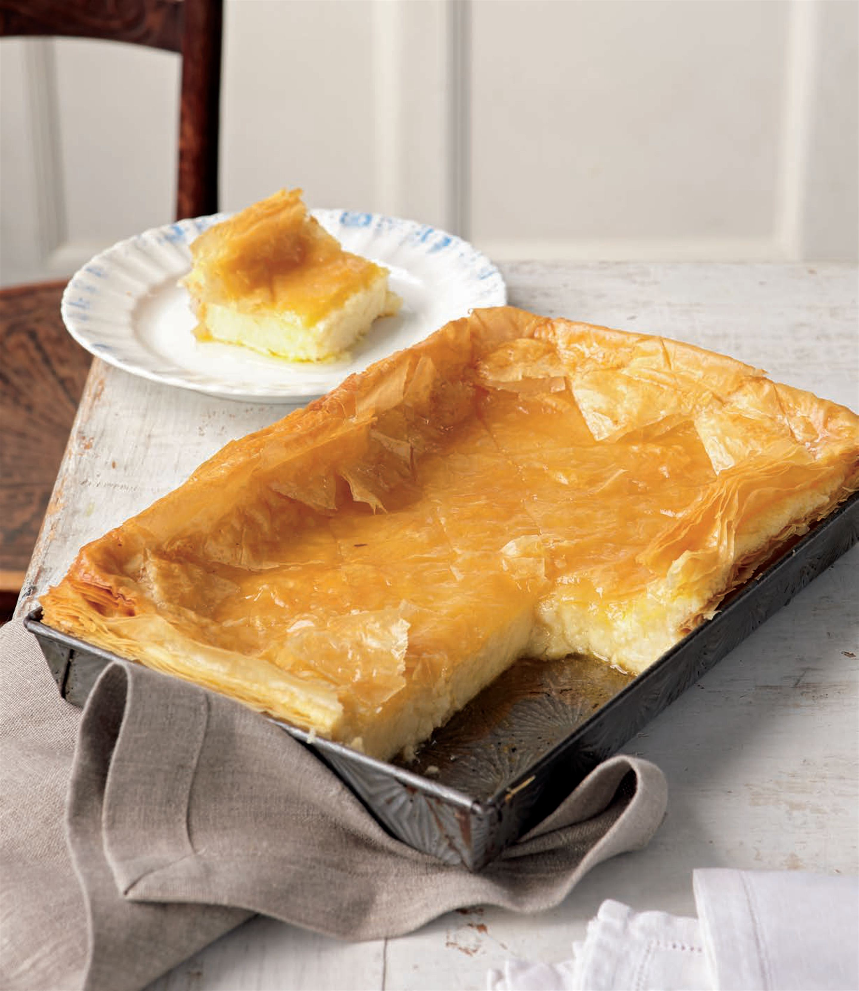 Greek custard pie