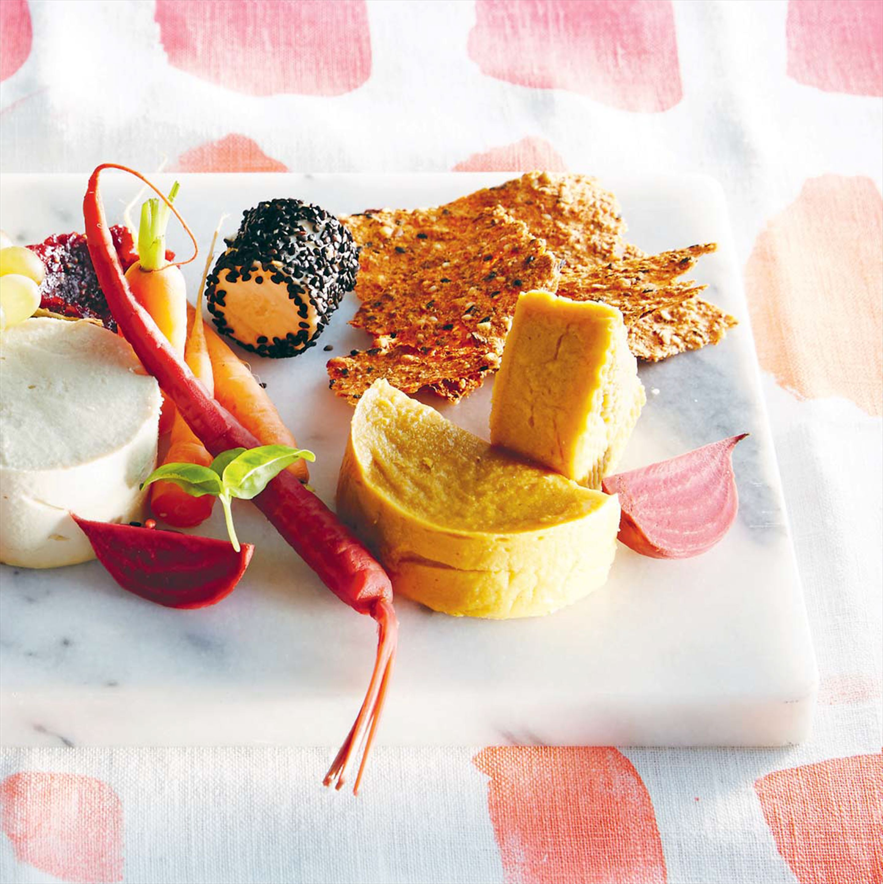 'Cheese' tasting plate