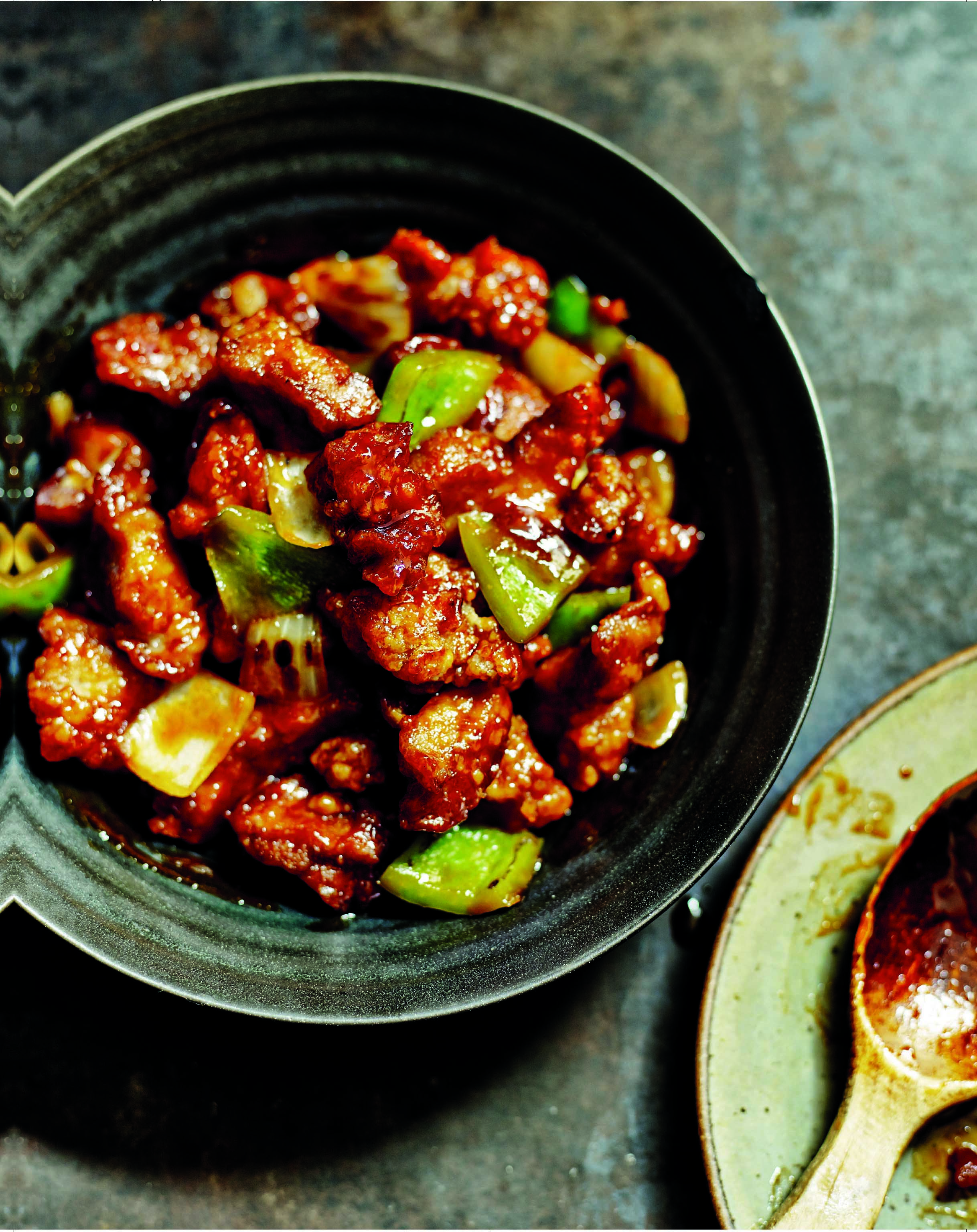 Classic sweet-and-sour pork