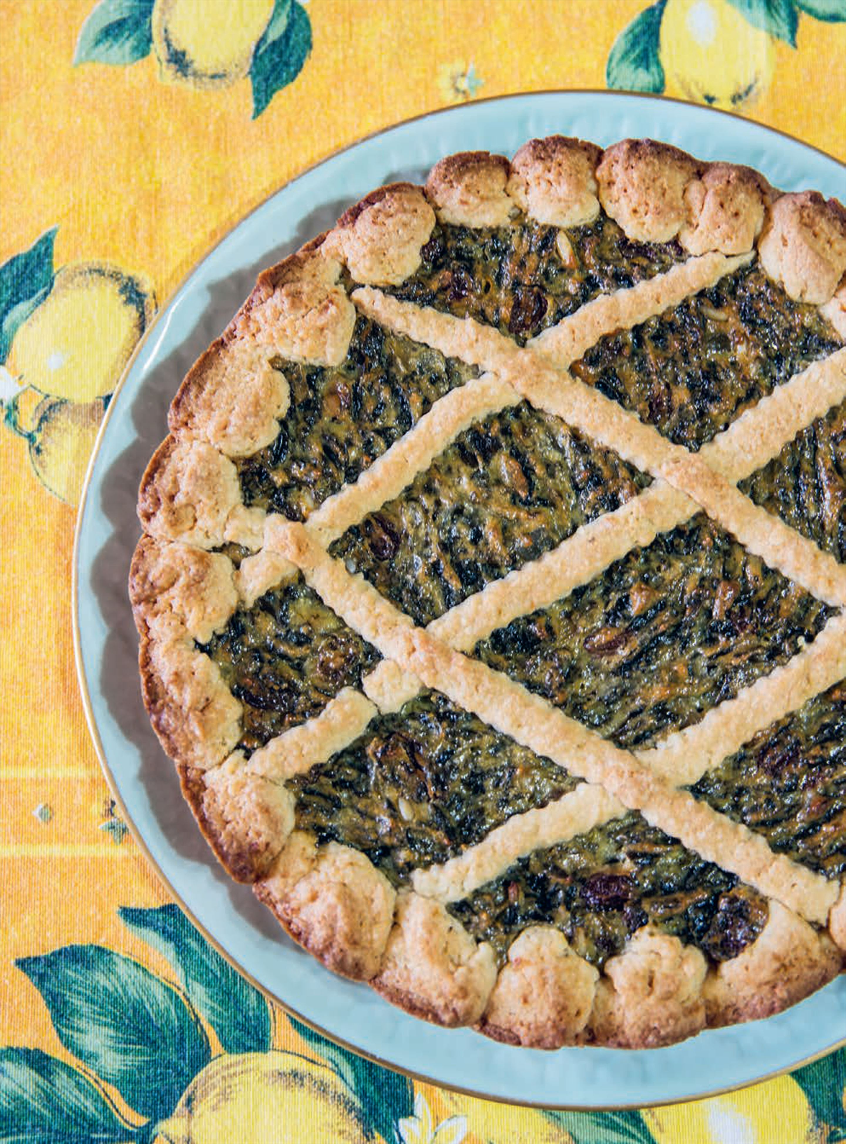 Sweet Swiss chard tart