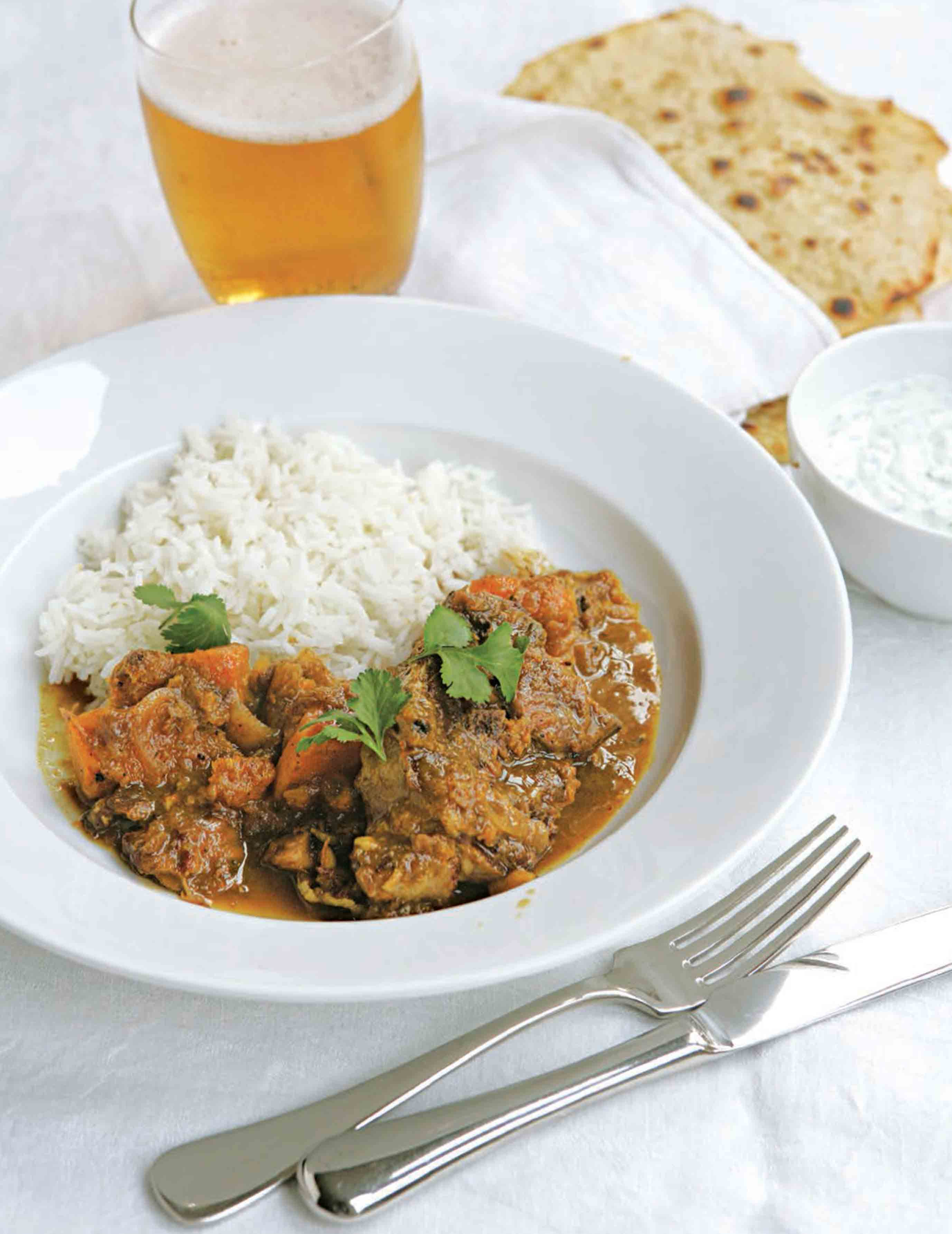 Lamb and squash curry