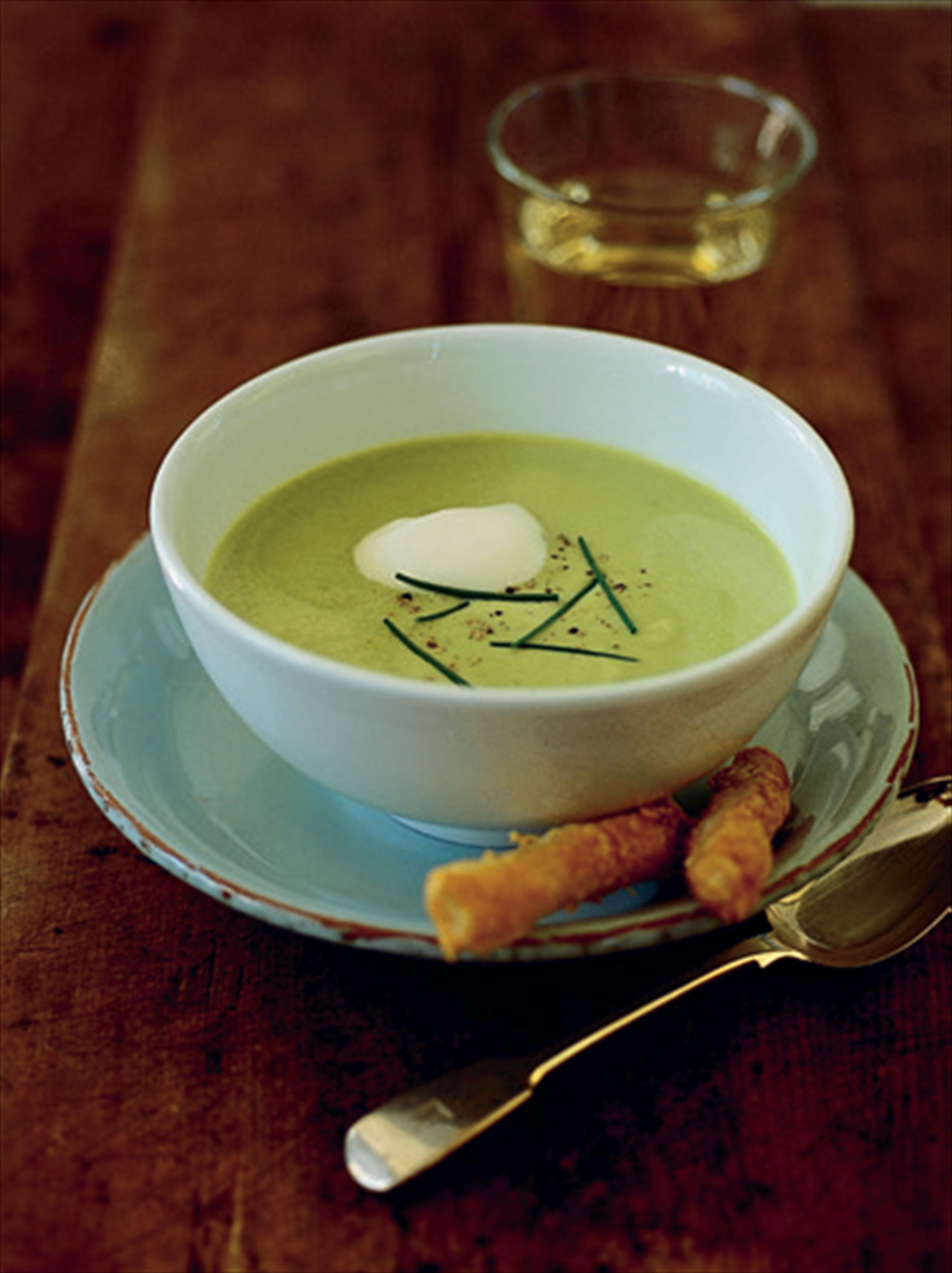 Anna's avocado soup