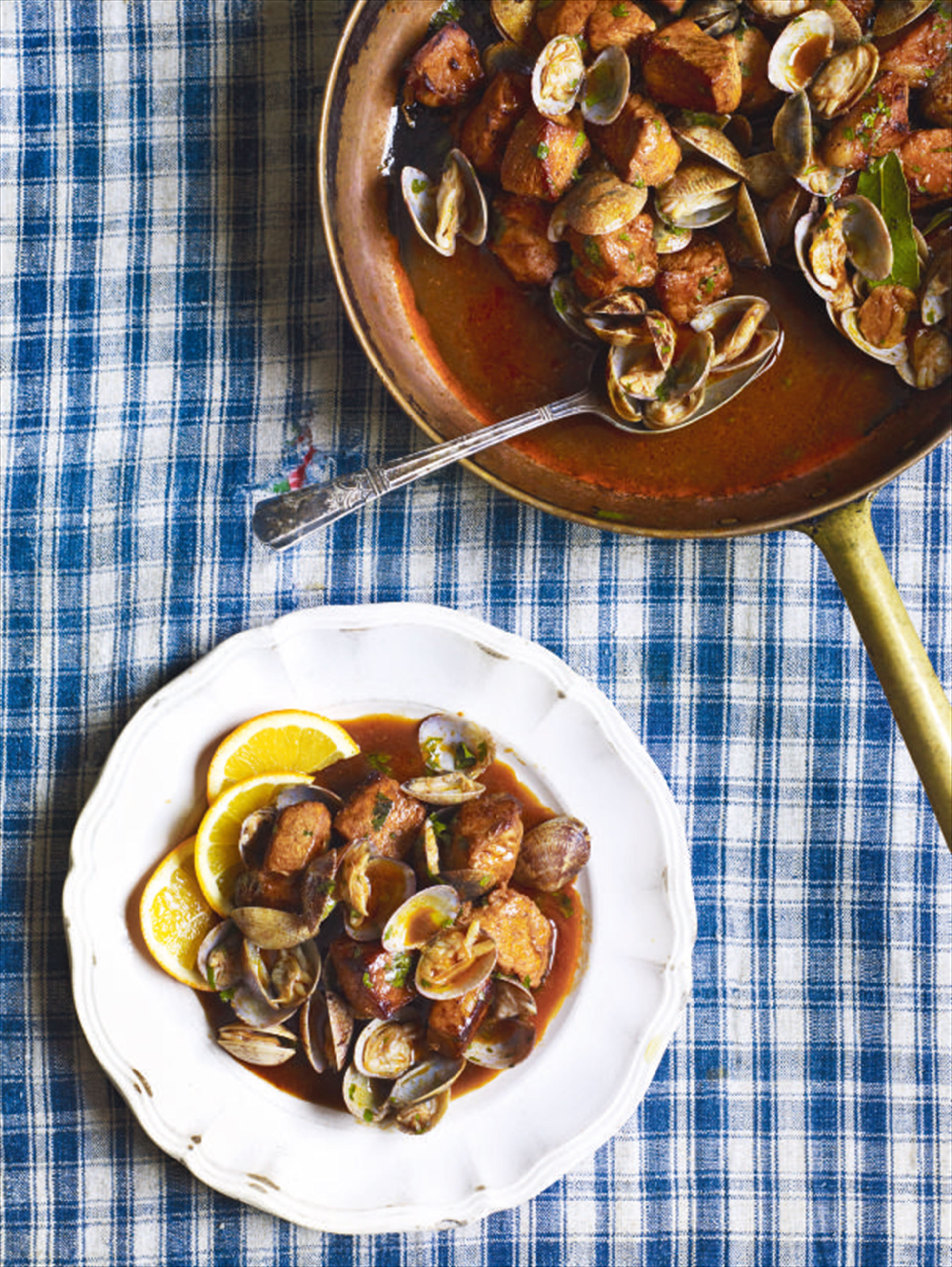 Alentejo-style pork and clams