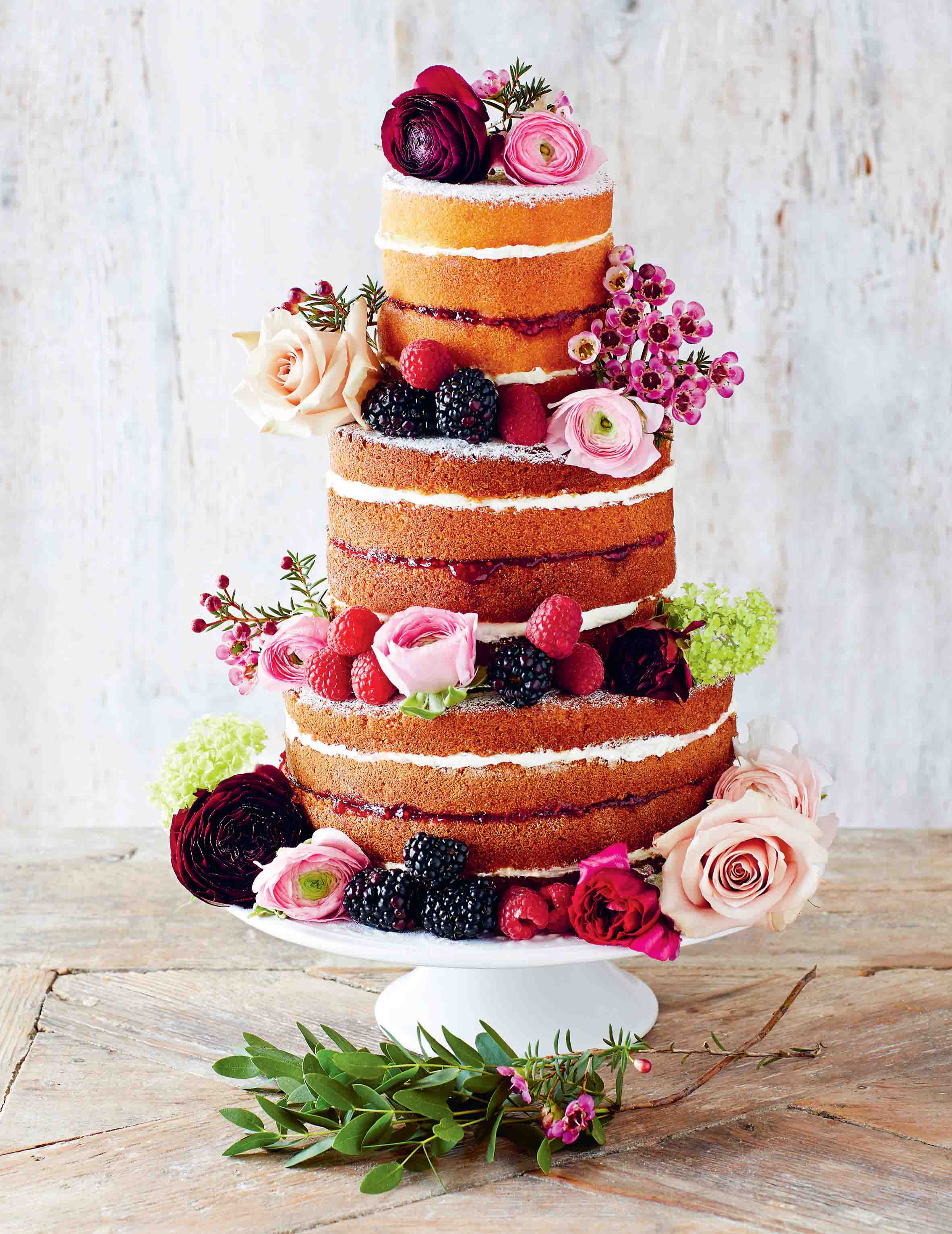Stacked Victoria sandwich