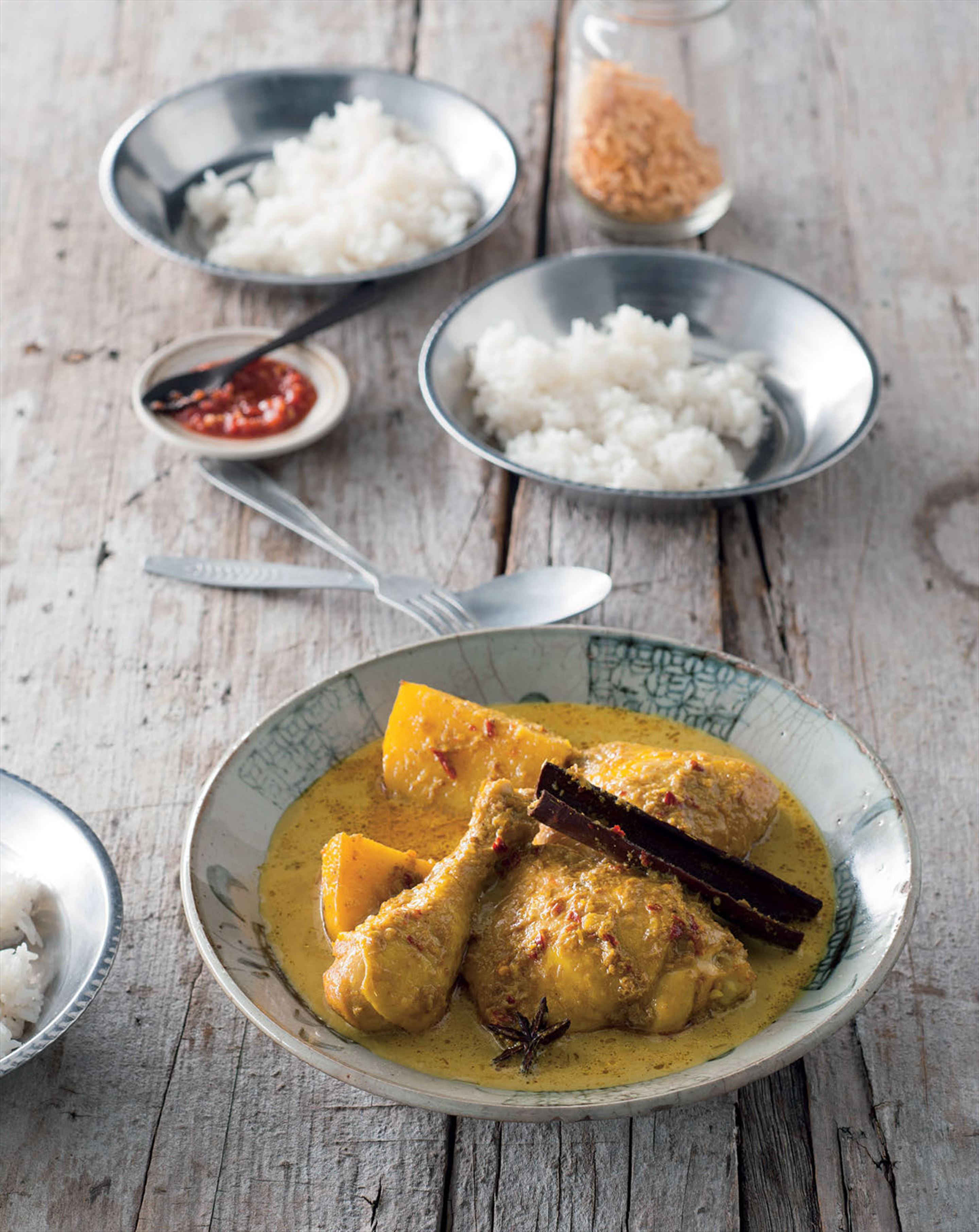 Nonya chicken curry