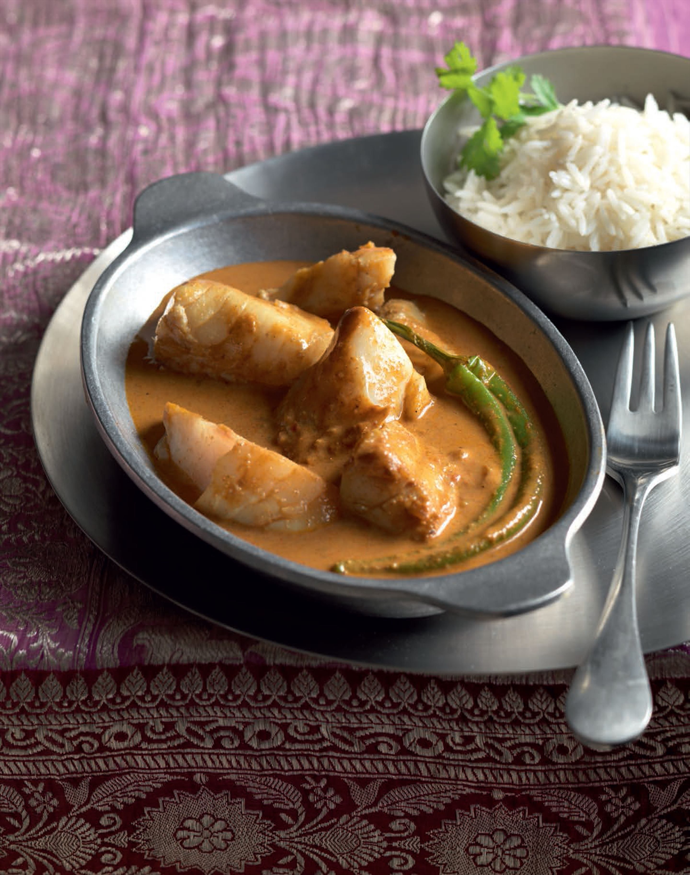 Authentic goan fish curry