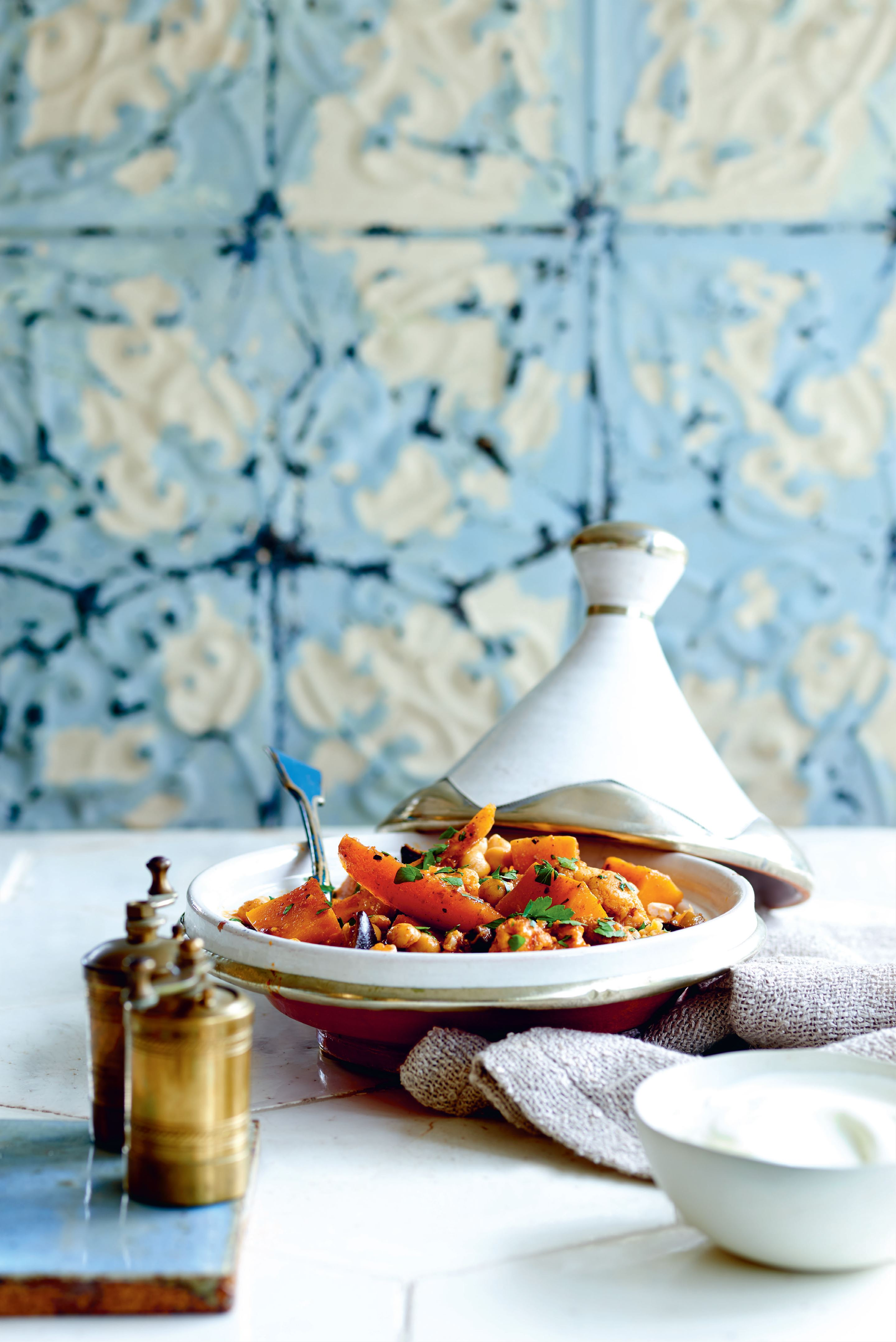 Autumn vegetable tagine