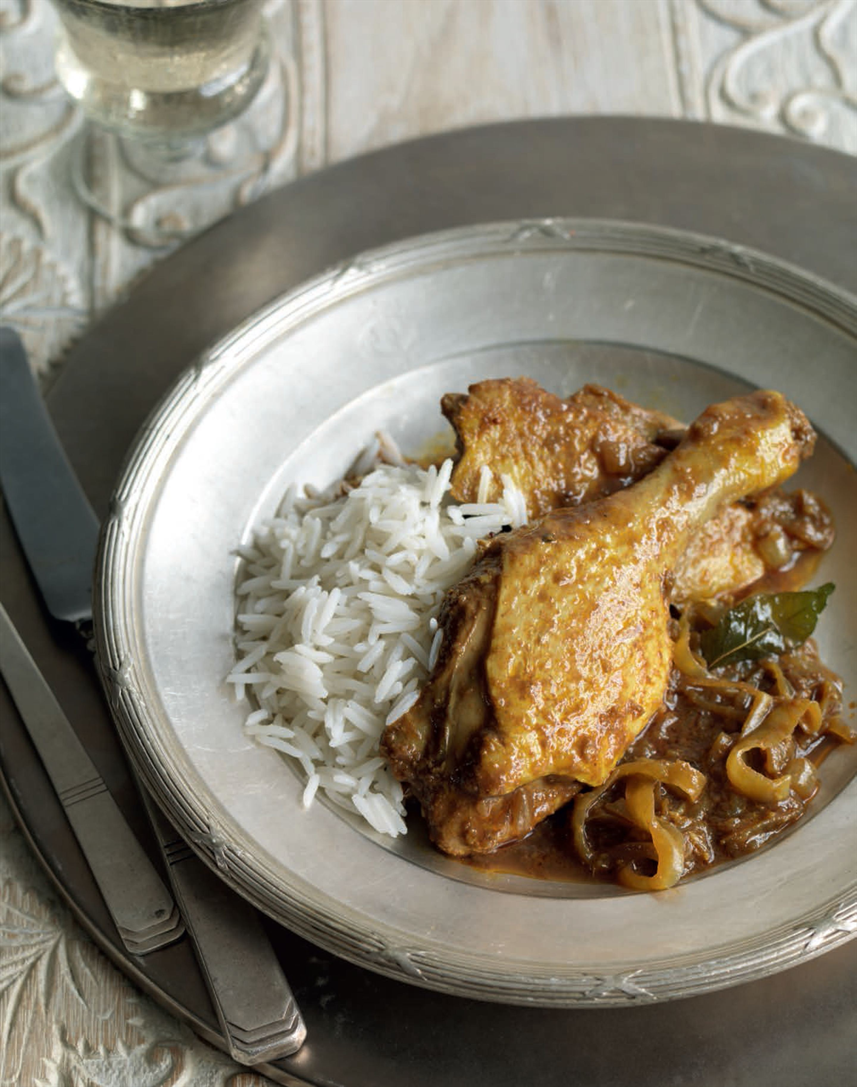 Tamarind duck curry