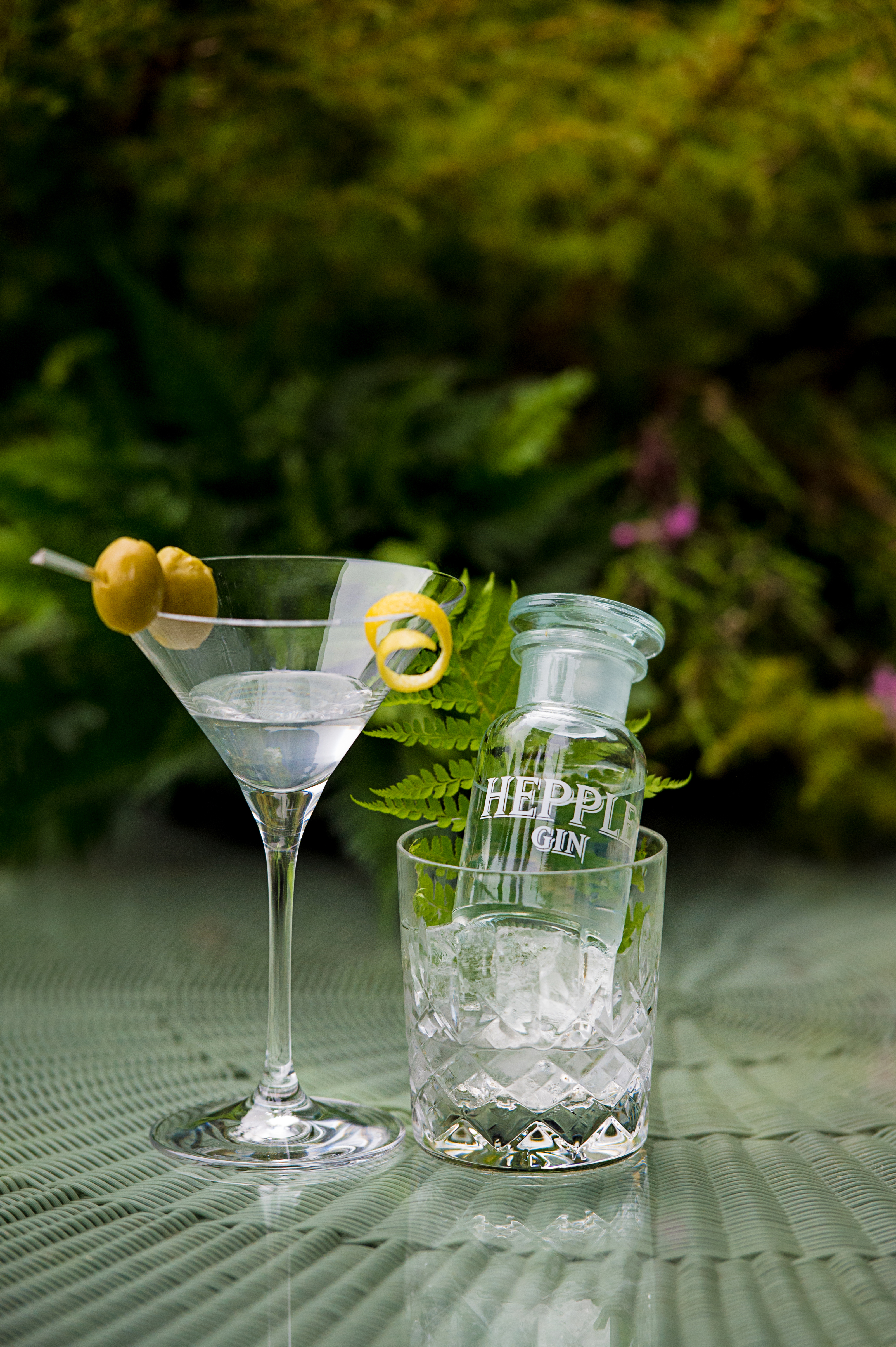 How to make the perfect Martini, with Hepple gin