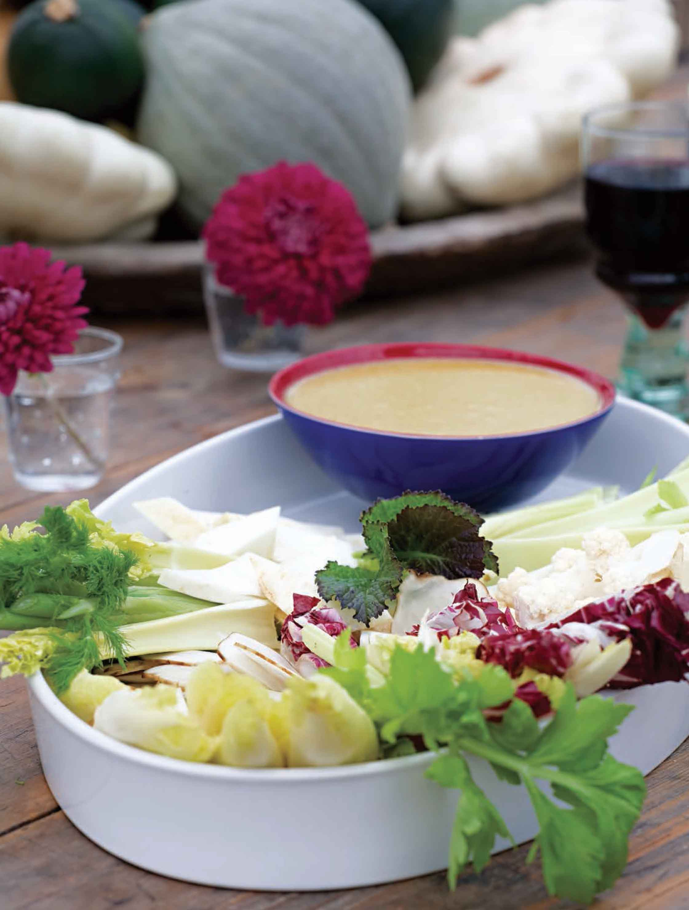 Winter bagna cauda