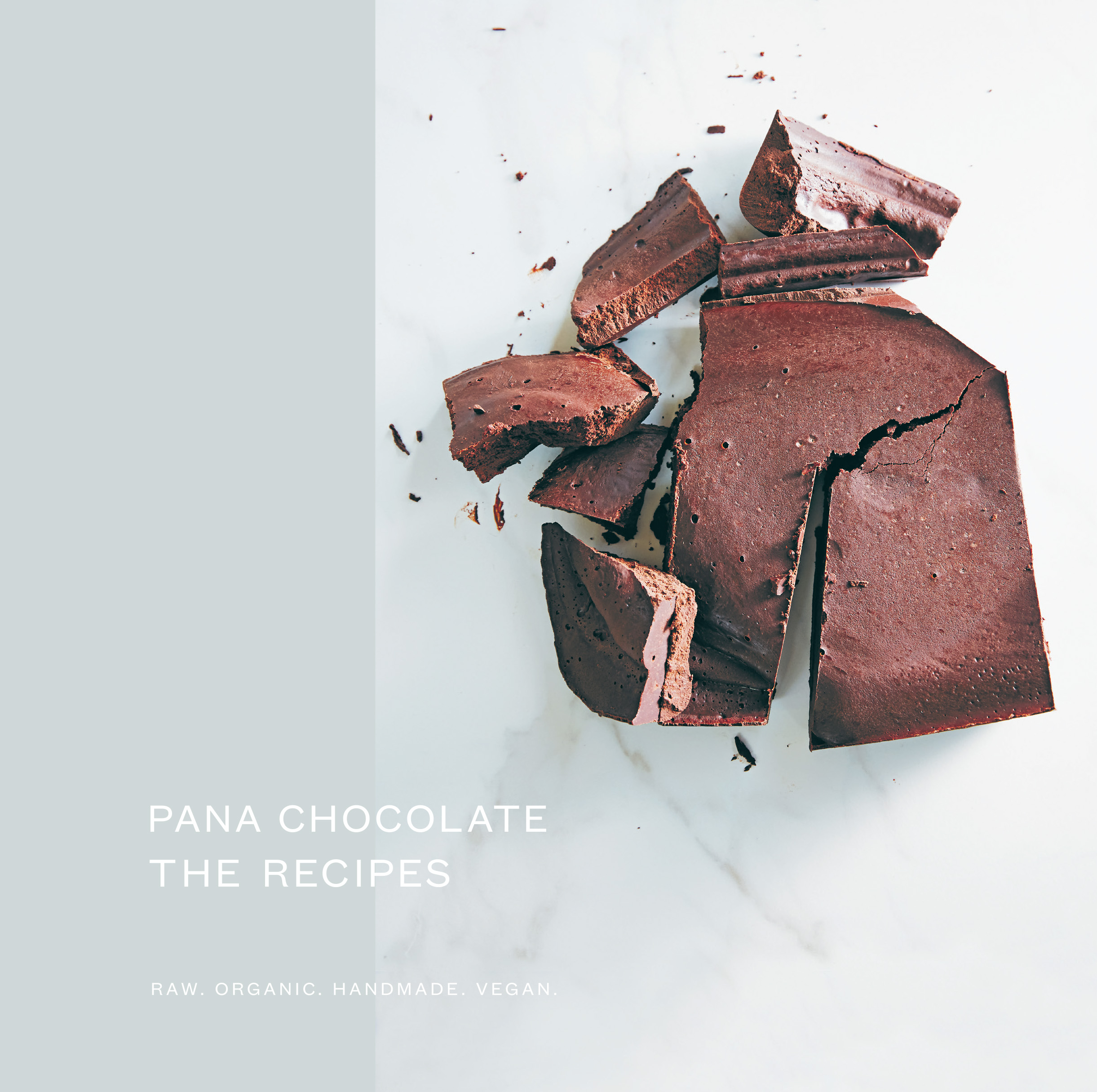 Pana Chocolate, The Recipes